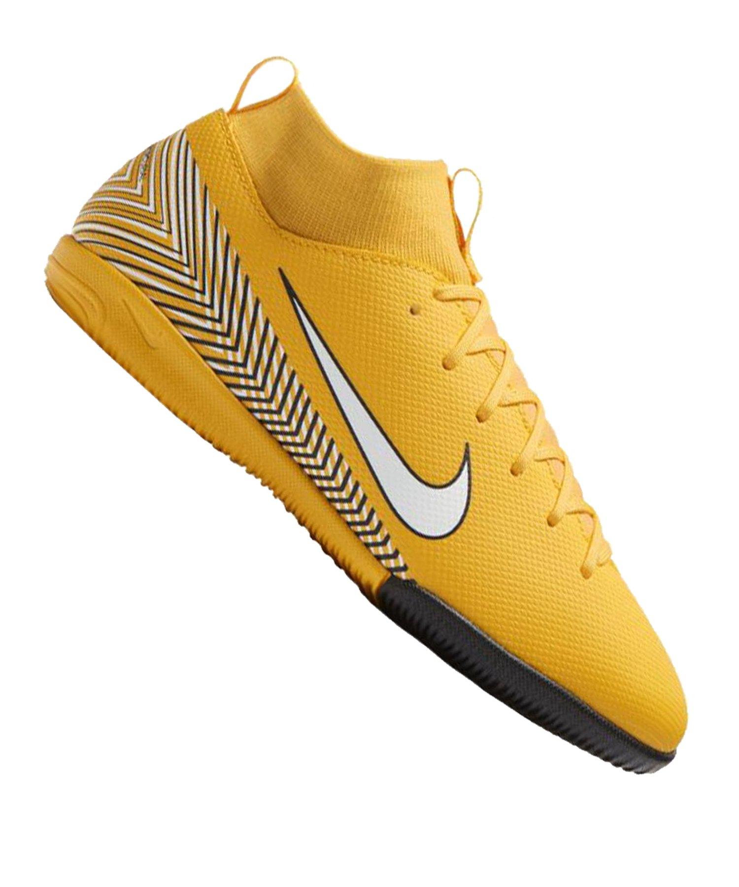 Nike Mercurial SuperflyX VI Academy NJR IC GS Kids F710 - gelb