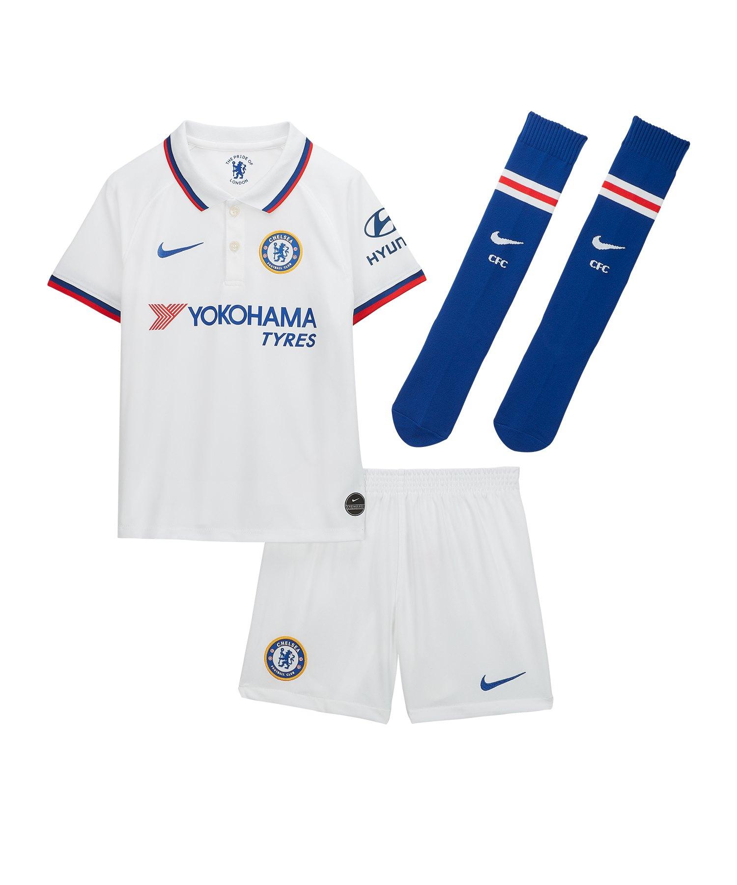 Nike FC Chelsea London Minikit Away 2019/2020 F101 - weiss