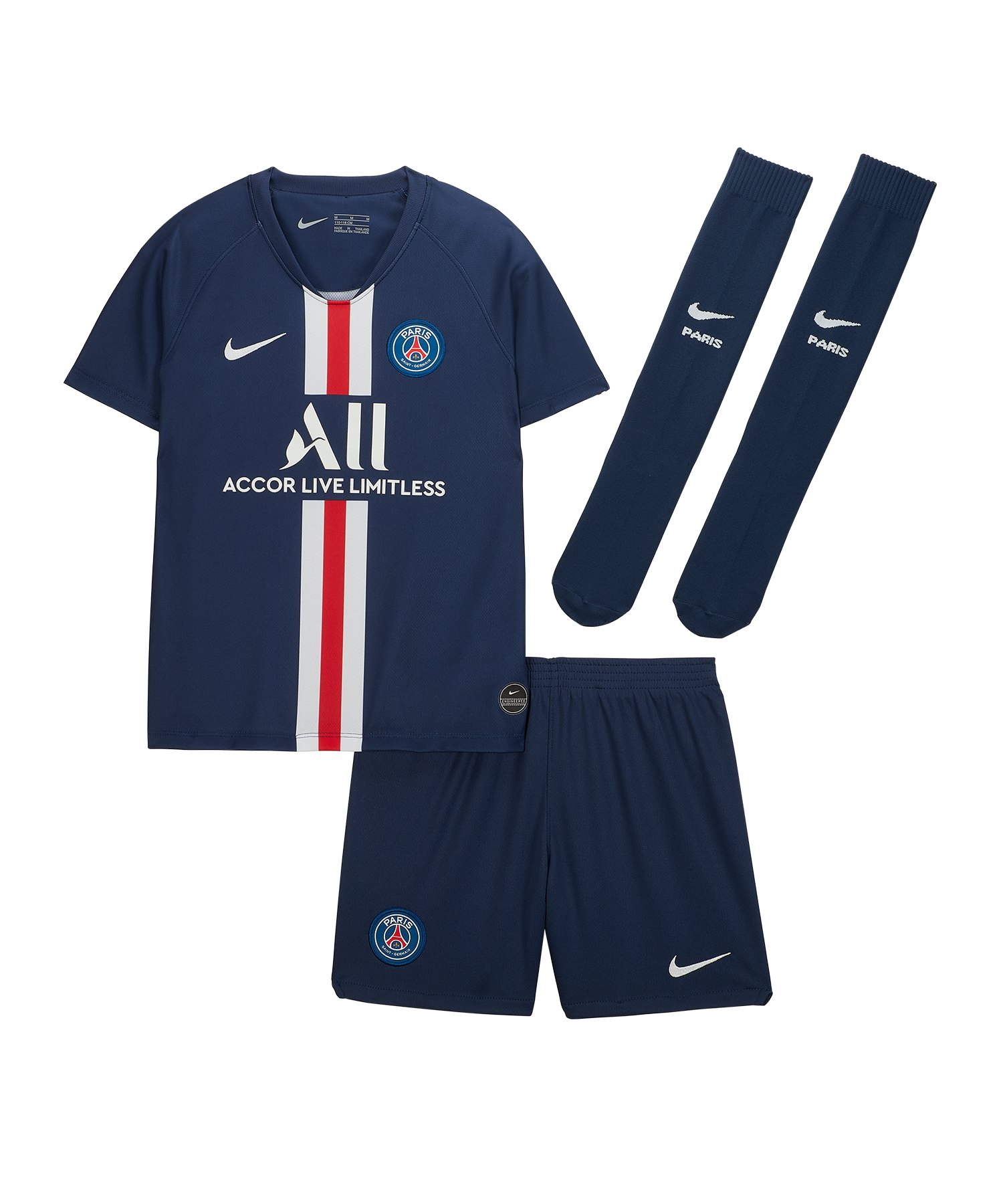Nike Paris Saint Germain Minikit Home 2019 F411 - blau