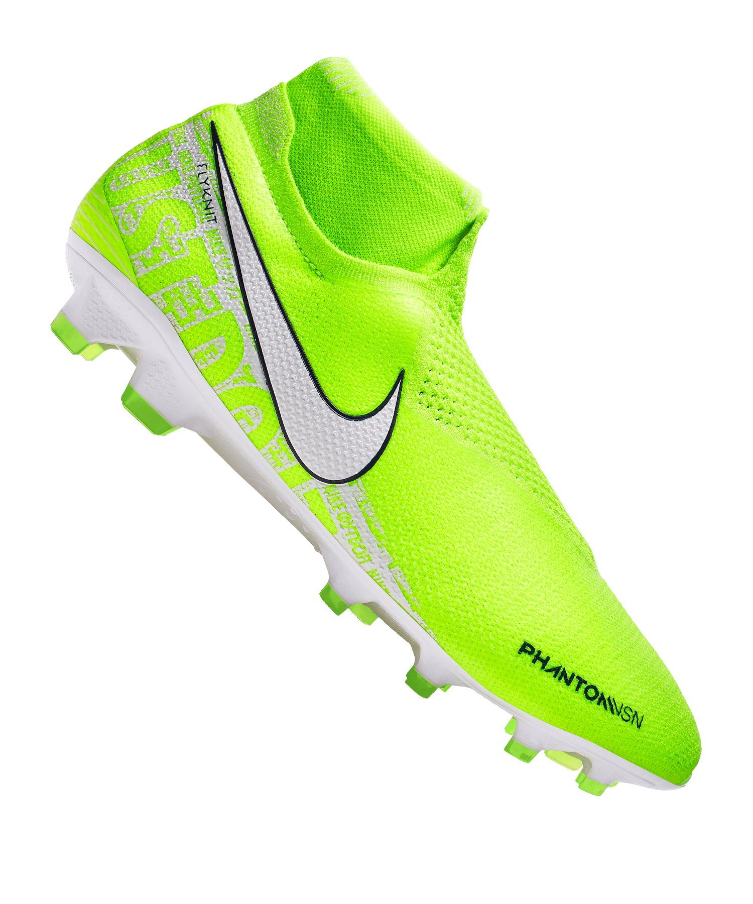Nike Phantom Vision Elite FG Gelb Weiss F717 - gelb
