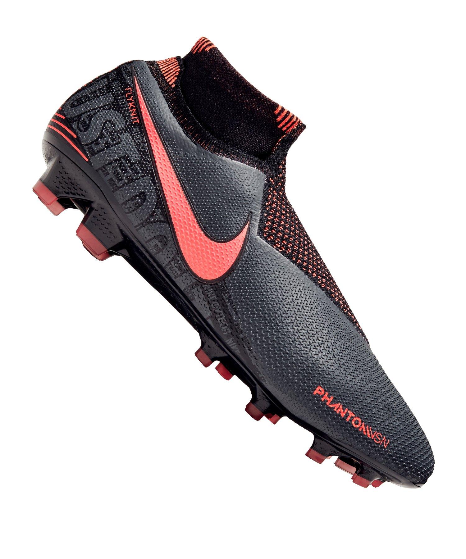Nike Phantom Vision Elite FG Grau F080 - grau