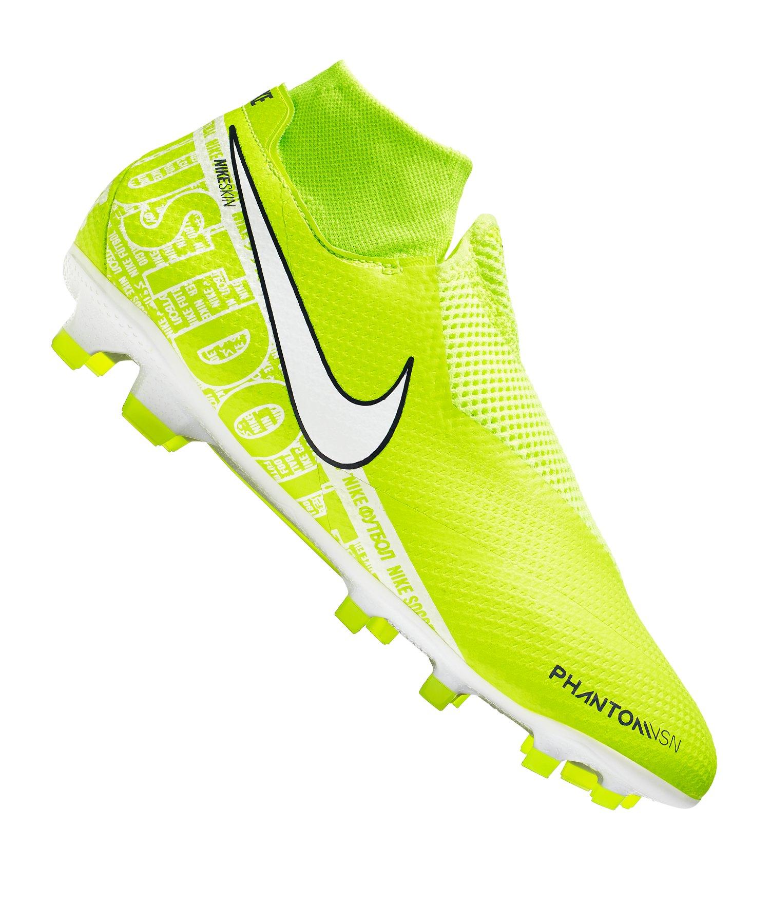 Nike Phantom Vision Pro FG Gelb Weiss F717 - gelb