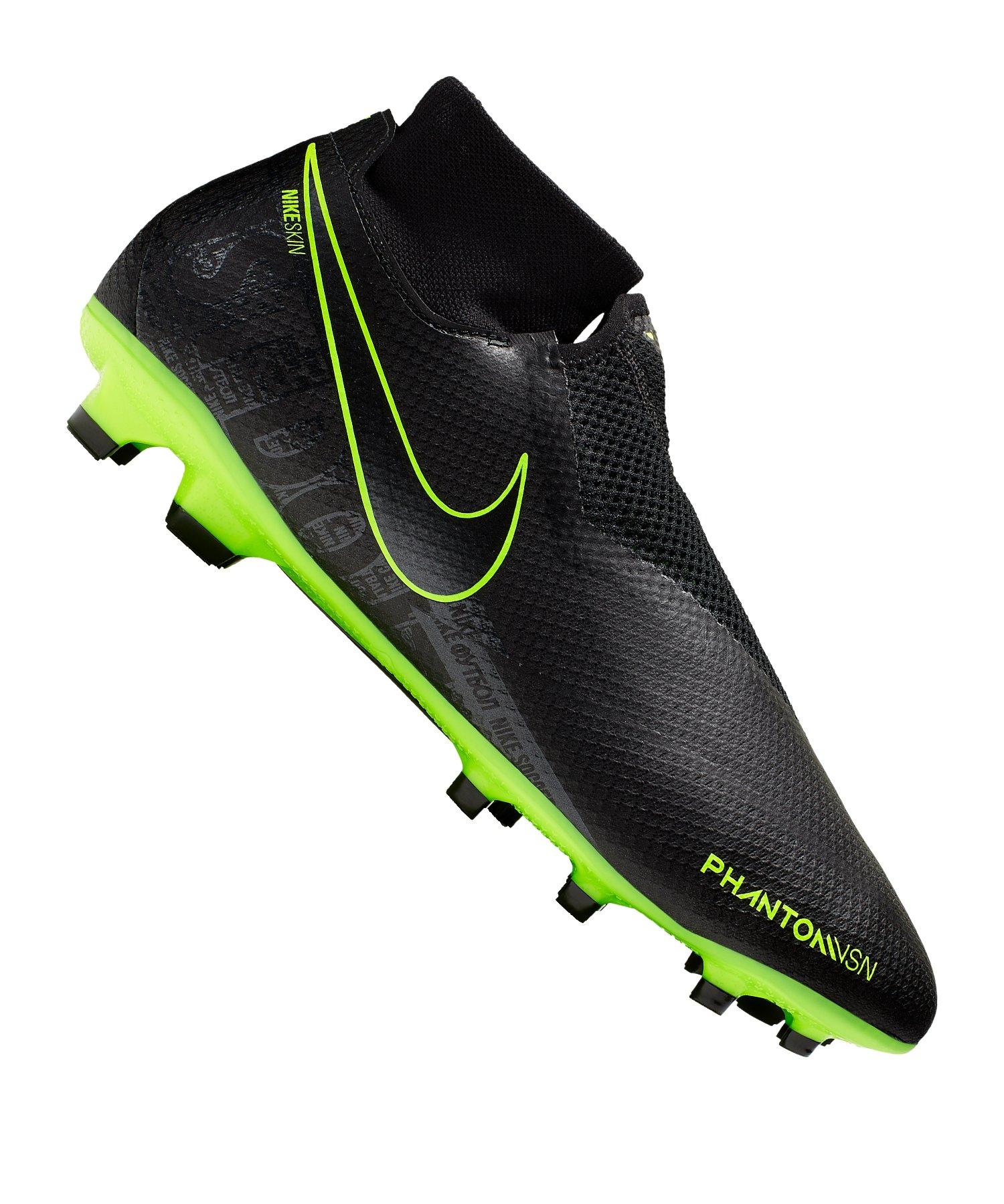Nike Phantom Vision Pro FG Schwarz F007 - schwarz