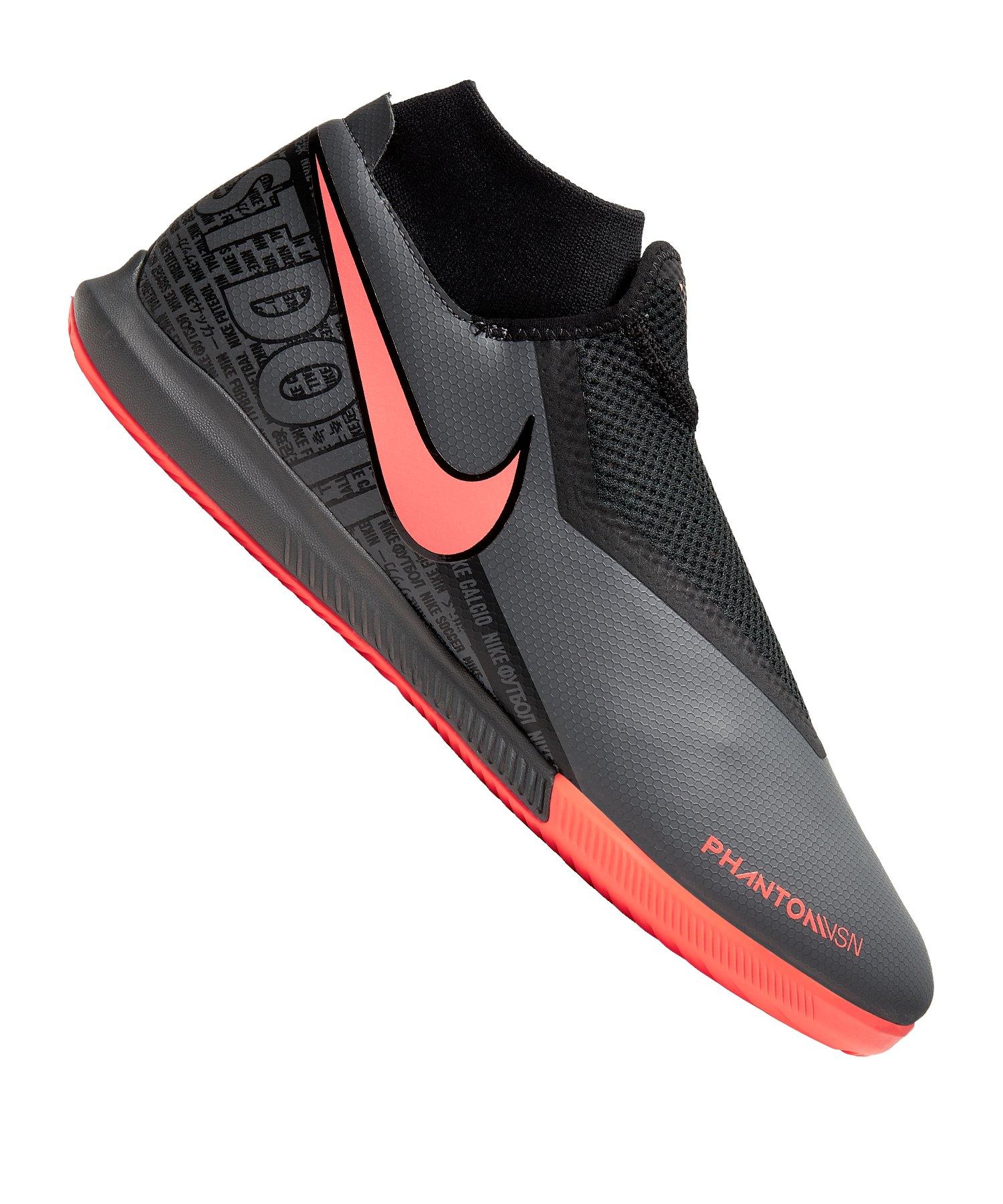Nike Phantom Vision Academy DF IC Grau F080 - grau