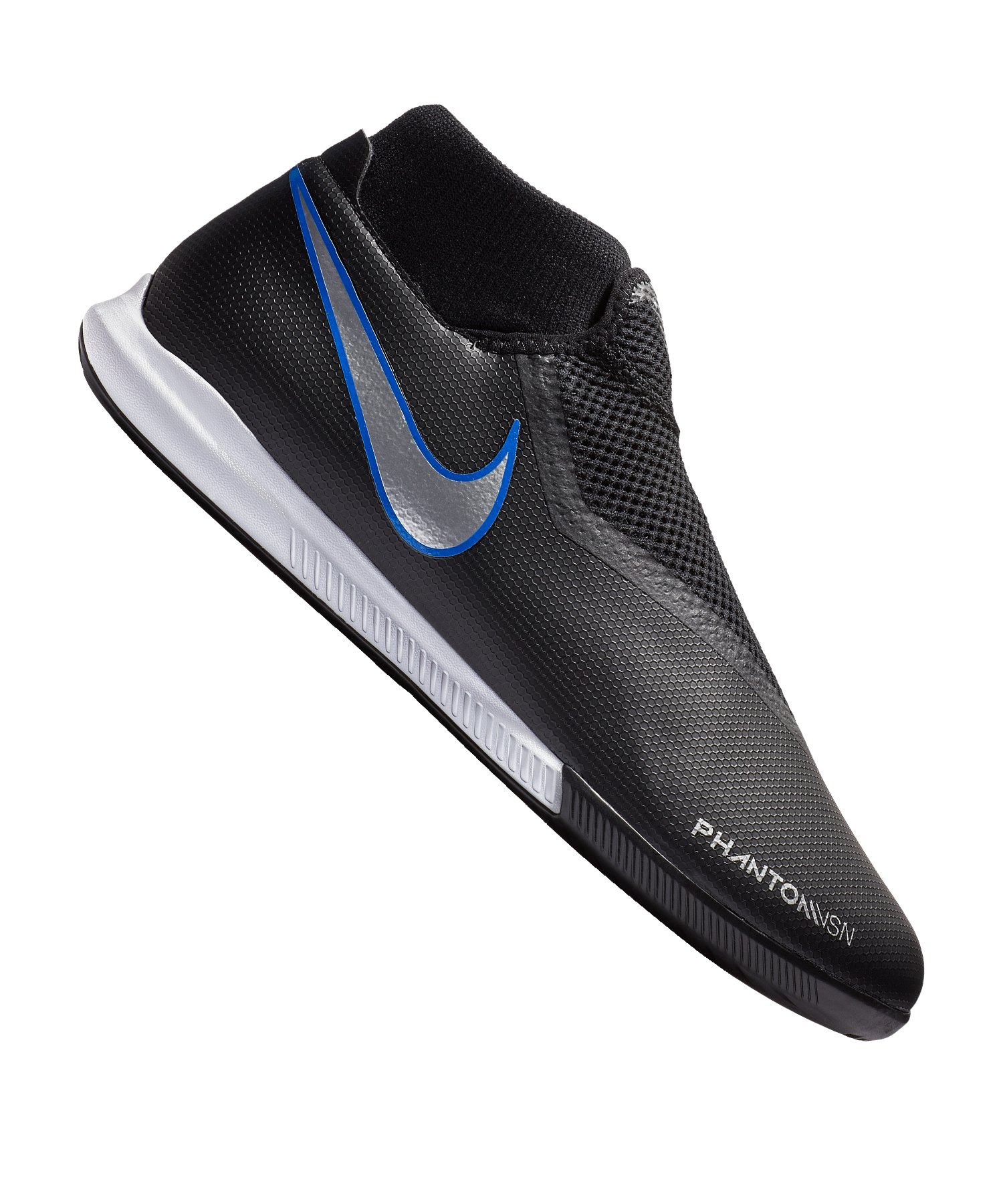 Nike Phantom Vision Academy DF IC Schwarz F004 - schwarz