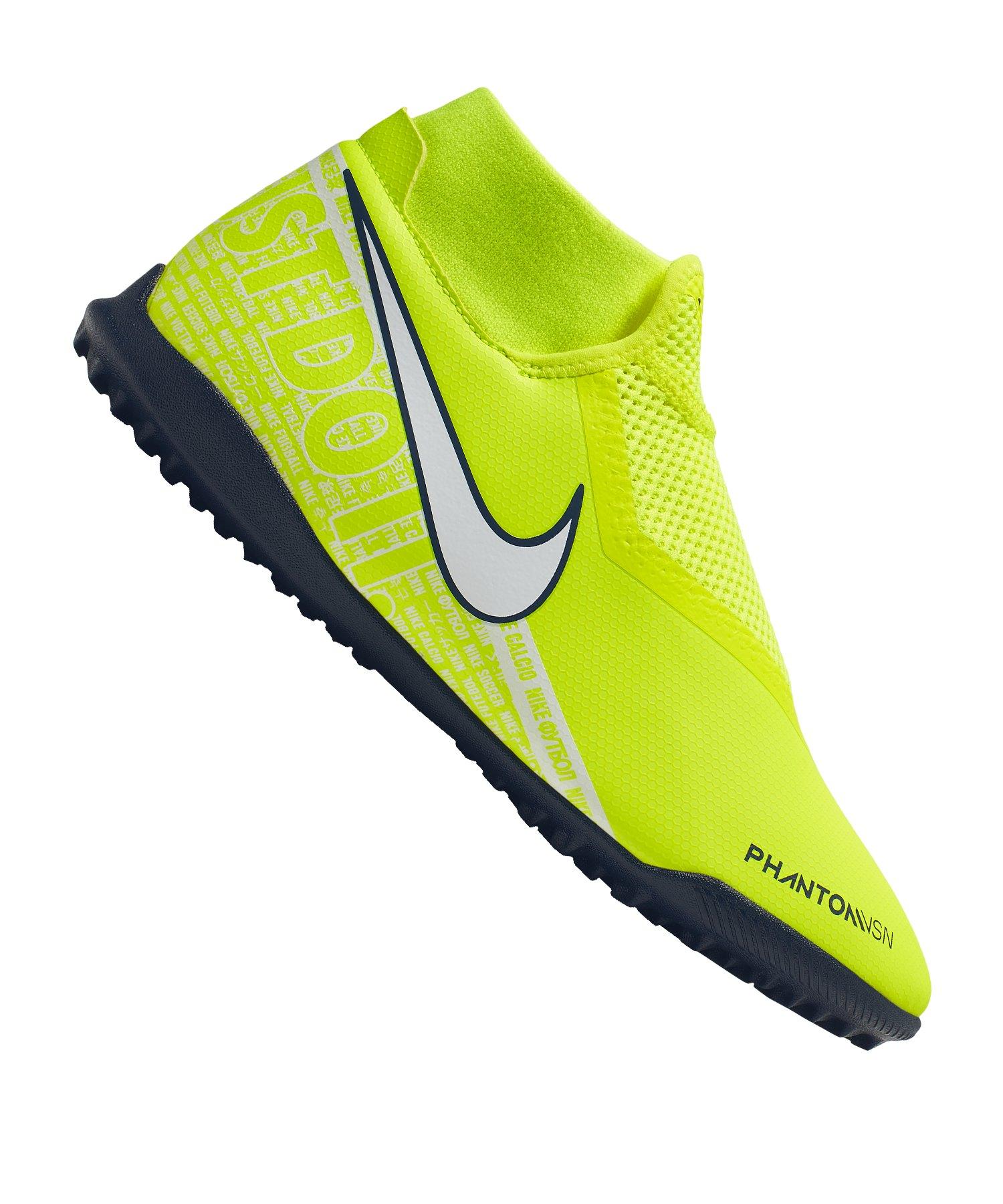 Nike Phantom Vision Academy DF TF Gelb F717 - gelb