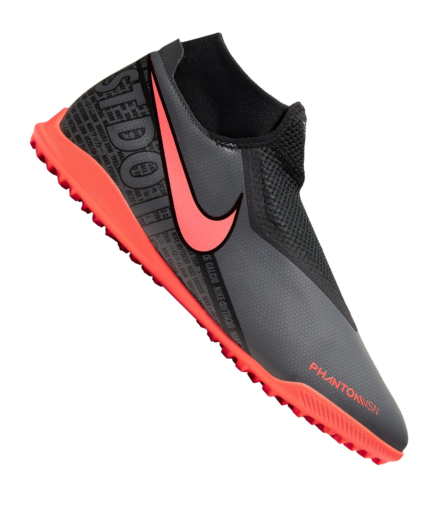 Nike Phantom Vision Academy DF TF Grau F080 - grau