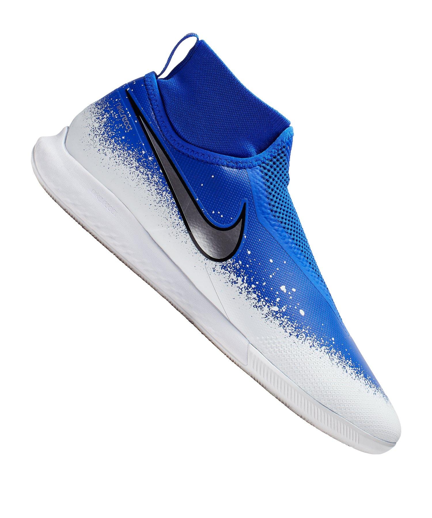 Nike Phantom Vision React Pro IC Blau F410 - blau