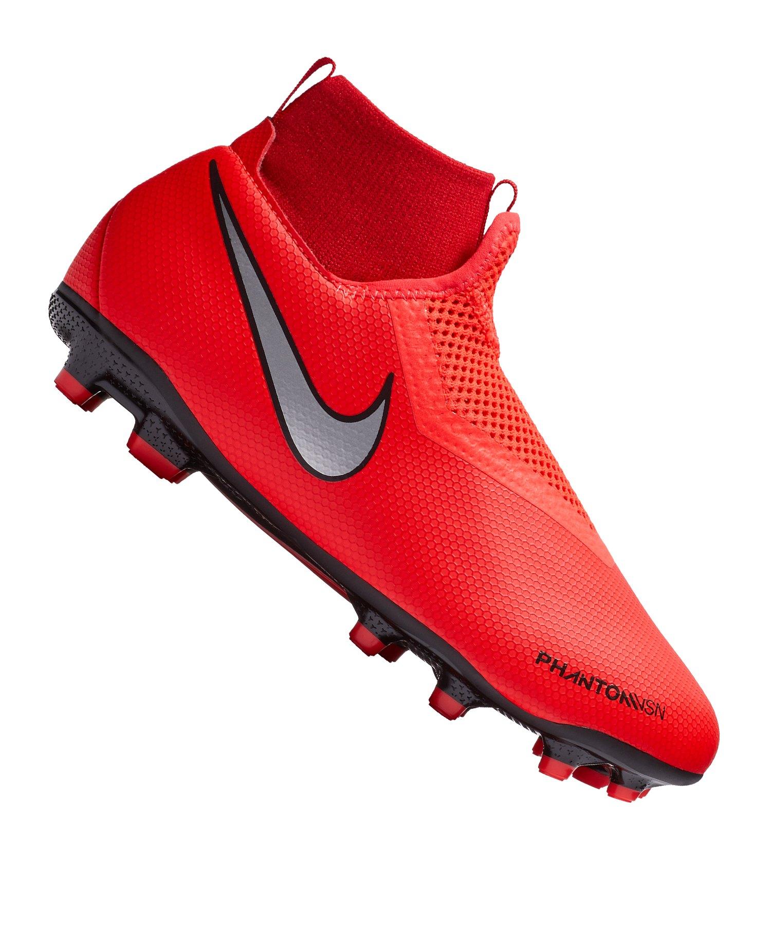 Nike Jr Phantom Vision Academy DF MG Kids F600 - rot