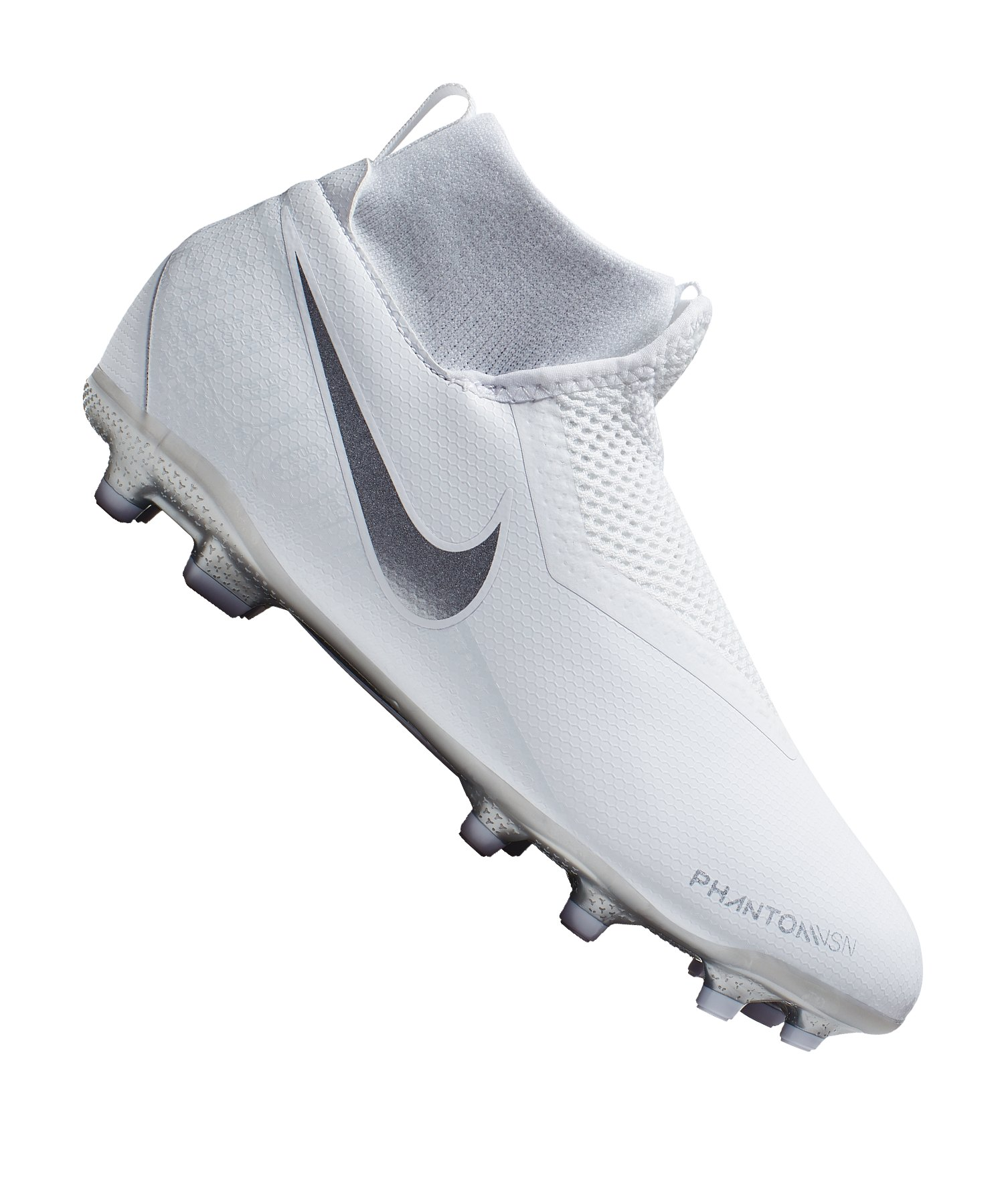 Nike Phantom Vision Academy DF MG Kids Weiss F100 - weiss
