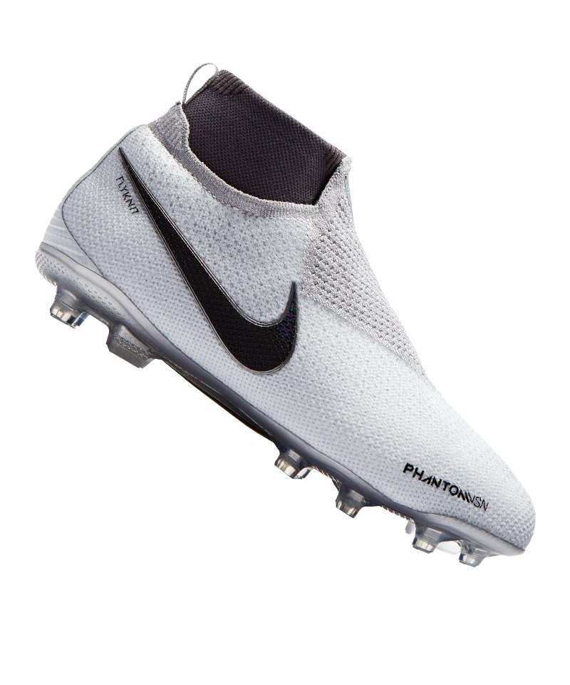 Nike Phantom Vision Elite MG Kids Silber F060 - silber