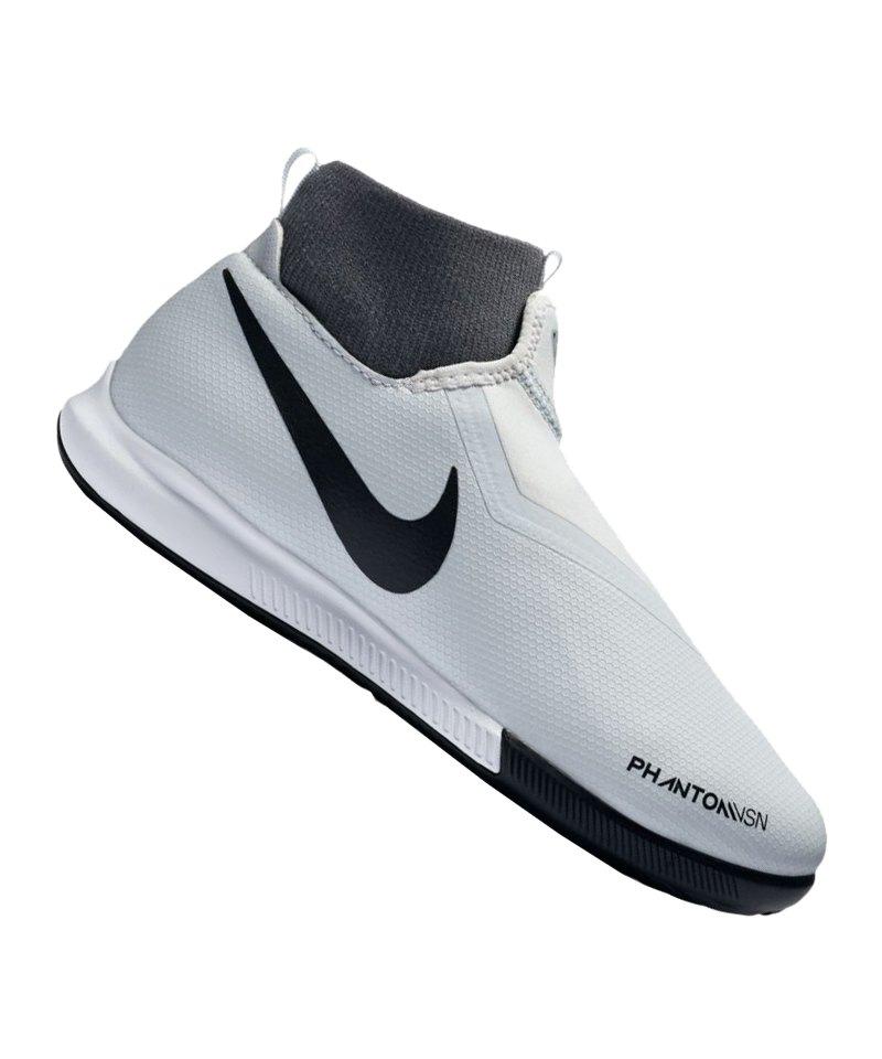 Nike Phantom Vision Academy DF IC Kids Silber F060 - silber