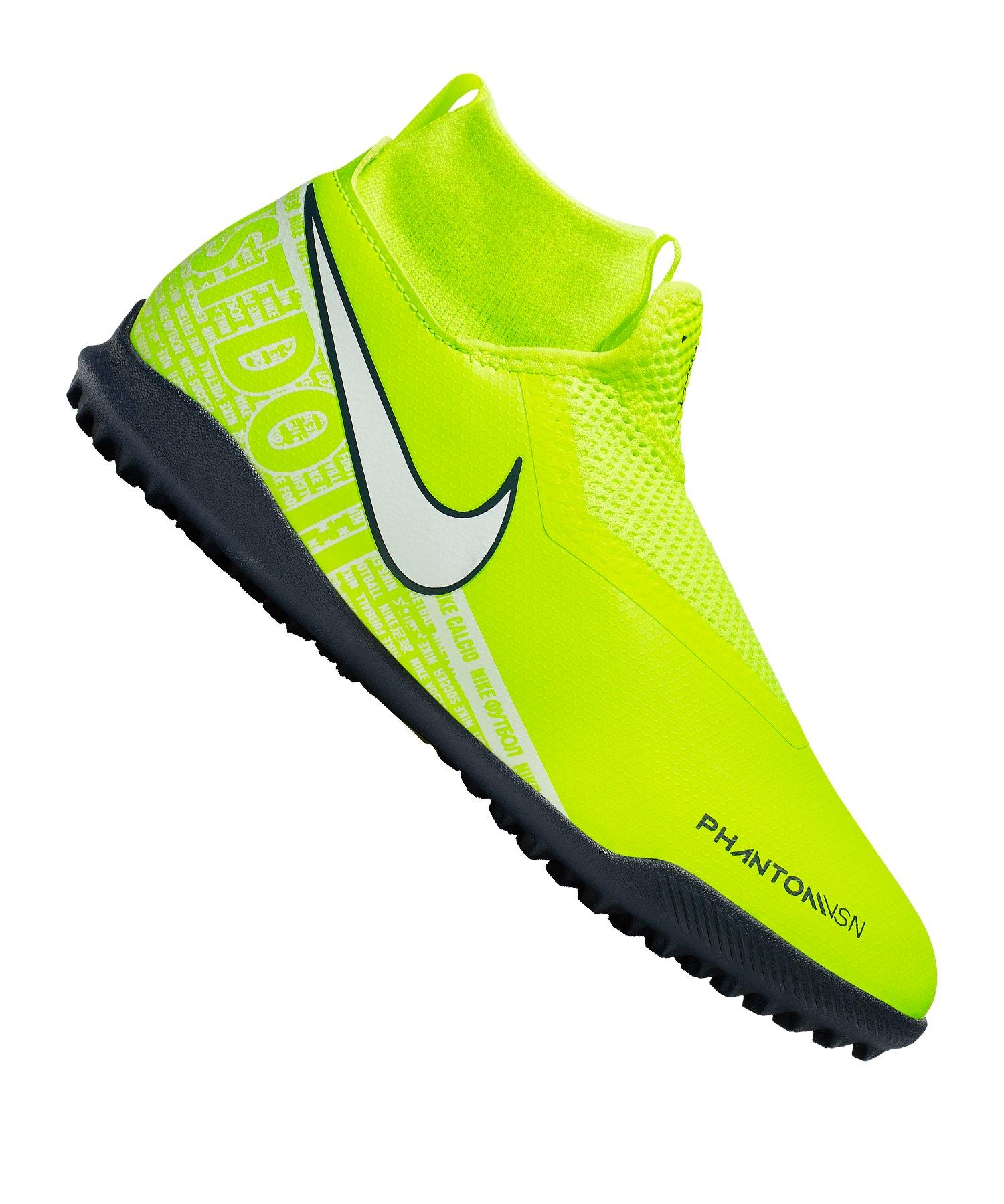 Nike Phantom Vision Academy DF TF Kids Gelb F717 - gelb