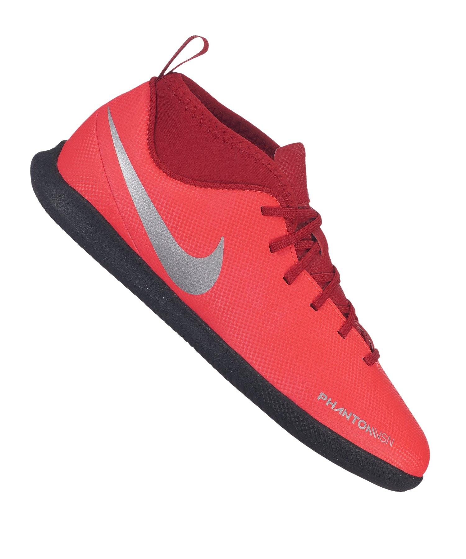 Nike Jr Phantom Vision Club DF IC Kids Rot F600 - rot
