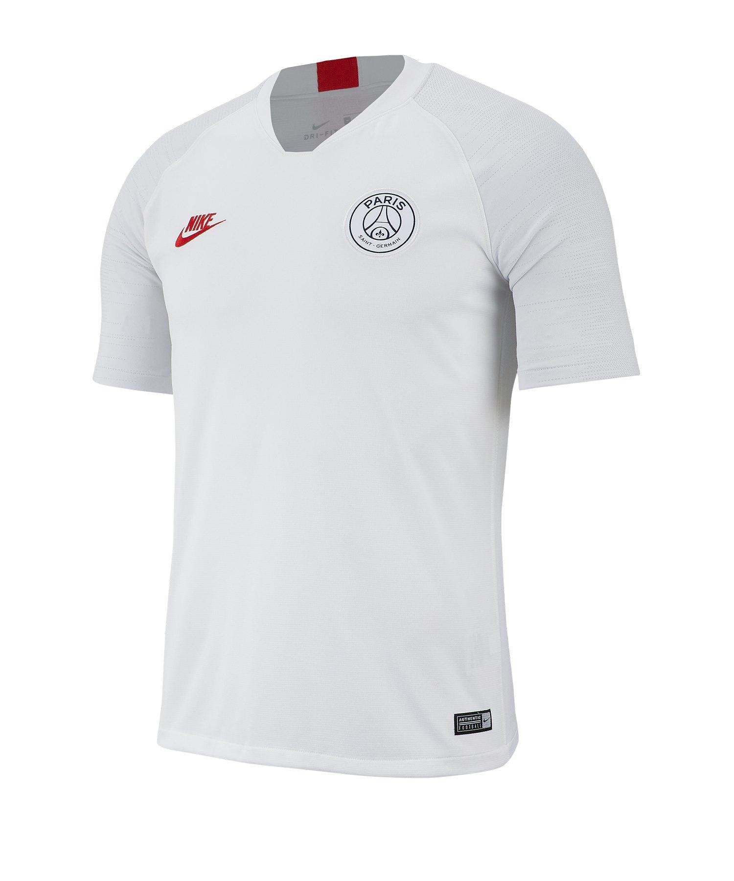 Nike Paris St. Germain Strike Top T-Shirt F104 - weiss