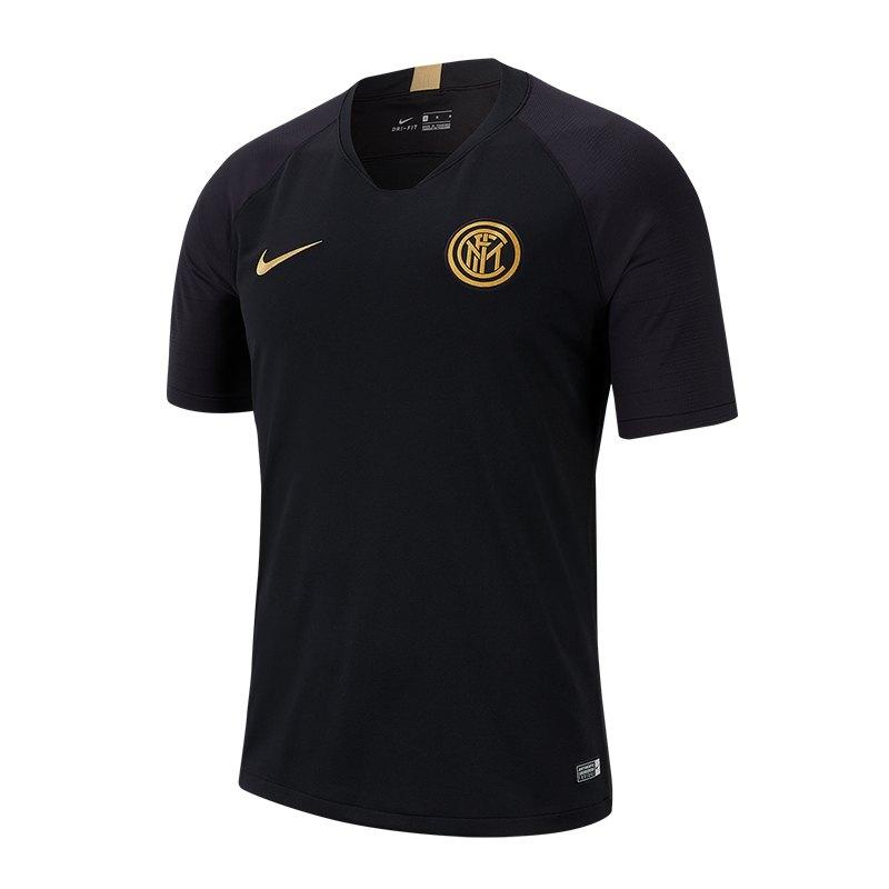 Nike Inter Mailand Trainingsshirt Schwarz F010 - Schwarz