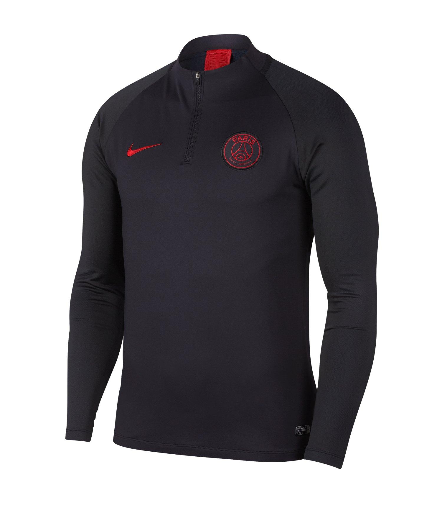 Nike Paris St. Germain Dry Drill Top Schwarz F081 - schwarz