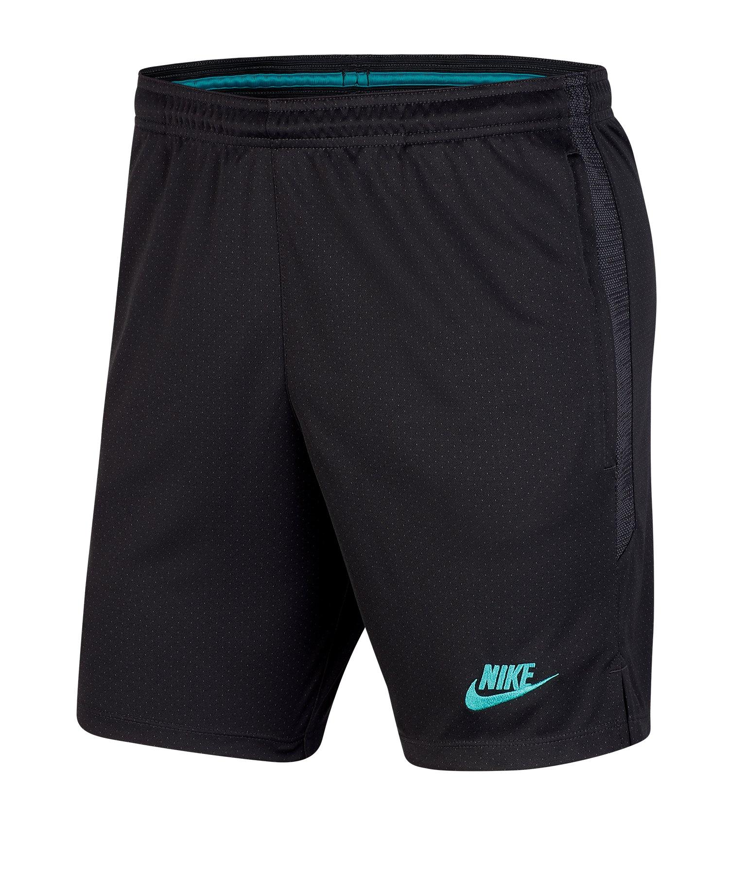 Nike FC Barcelona Dry Strike Short Grau F070 - grau