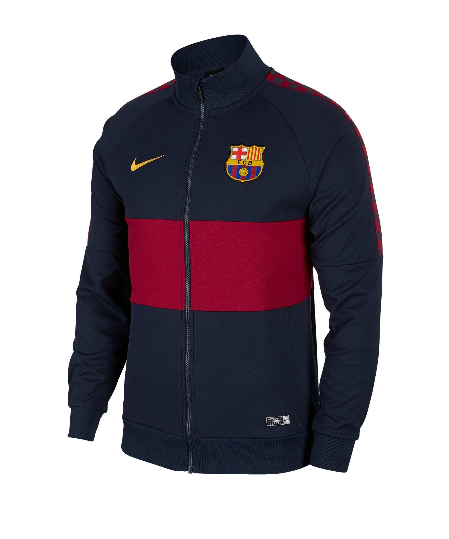 Nike FC Barcelona I96 Jacke Blau F451 - Blau