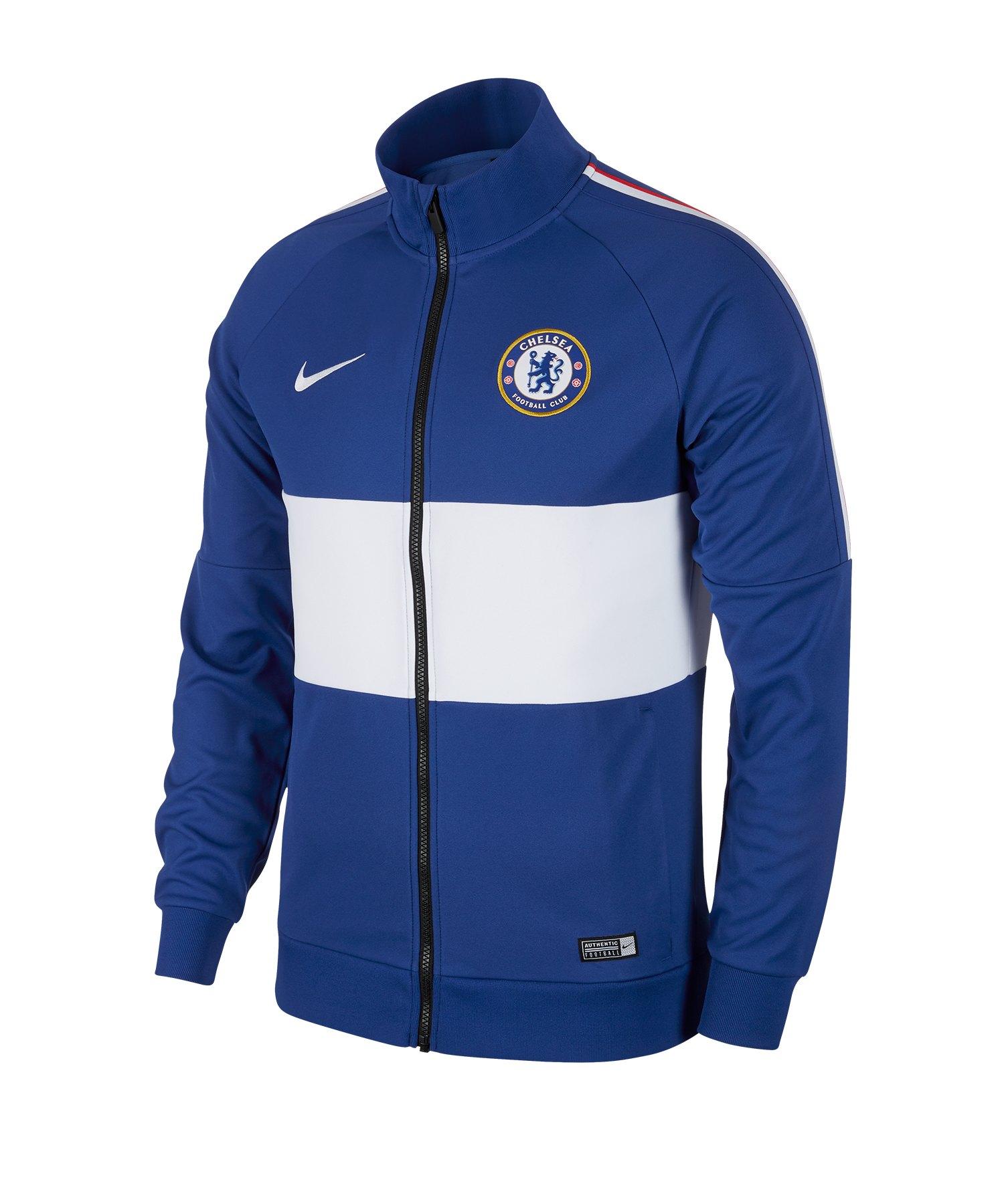 Nike FC Chelsea London I96 Jacke Blau F495 - Blau