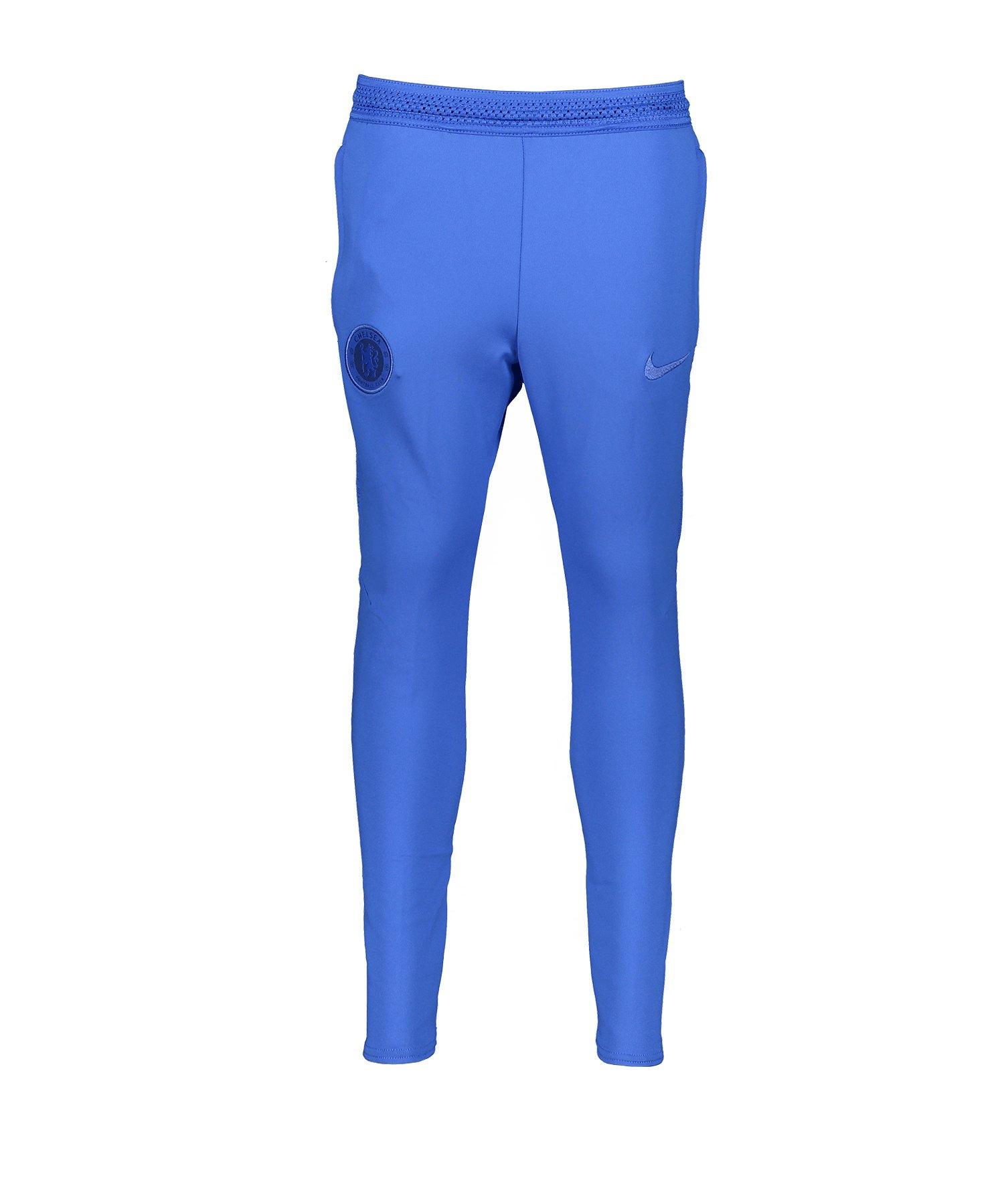 Nike FC Chelsea London Strike Pants Hose lang F405 - blau