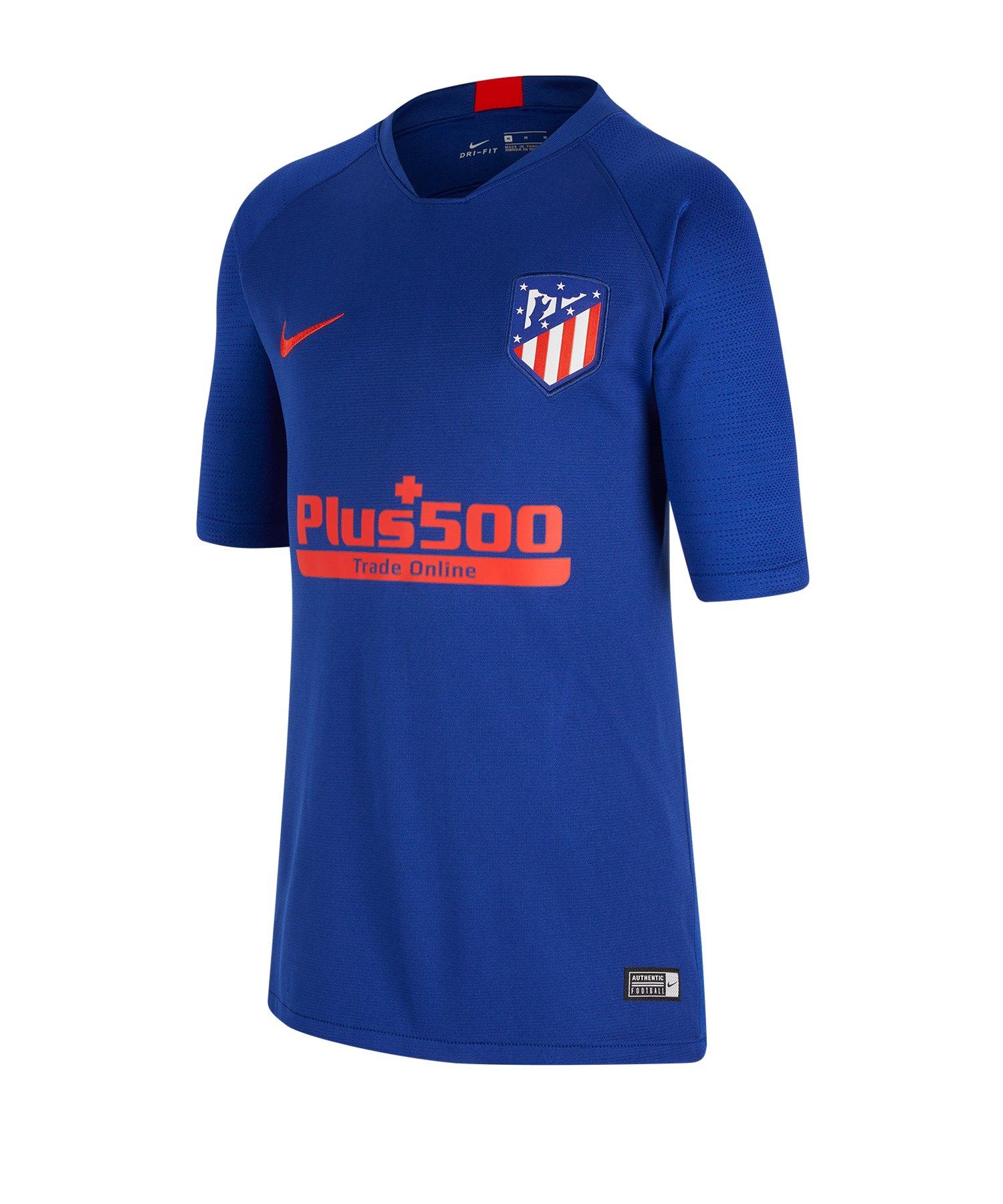 Nike Atletico Madrid Breathe T-Shirt Kids F456 - blau