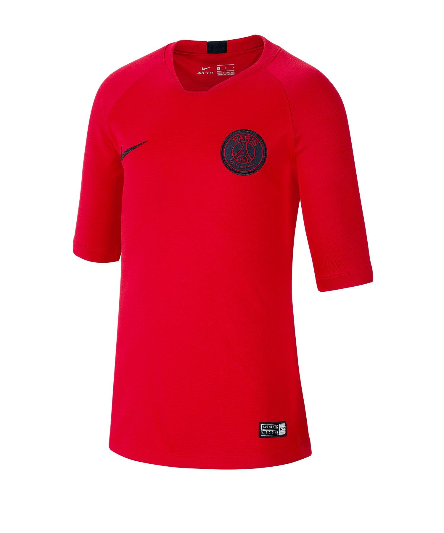 Jordan Paris St. Germain Trainingsshirt Kids F660 - orange