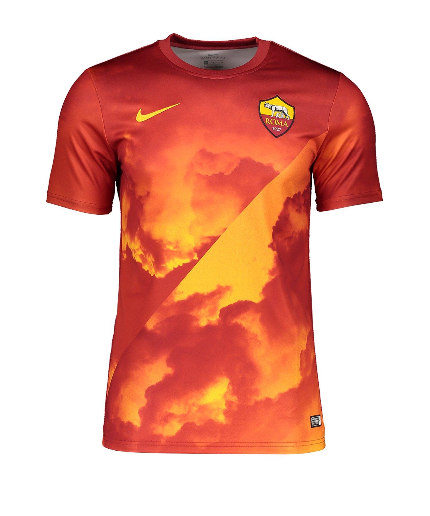 Nike AS Rom Trainingsshirt Gelb F739 - rot