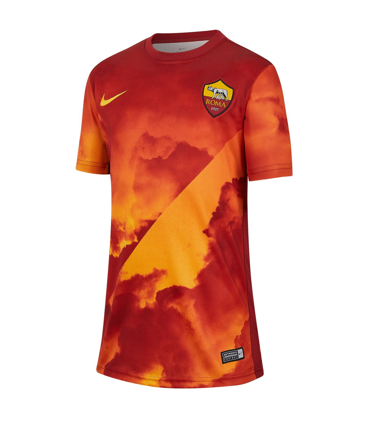 Nike AS Rom Prematch Shirt kurzarm Kids F739 - rot