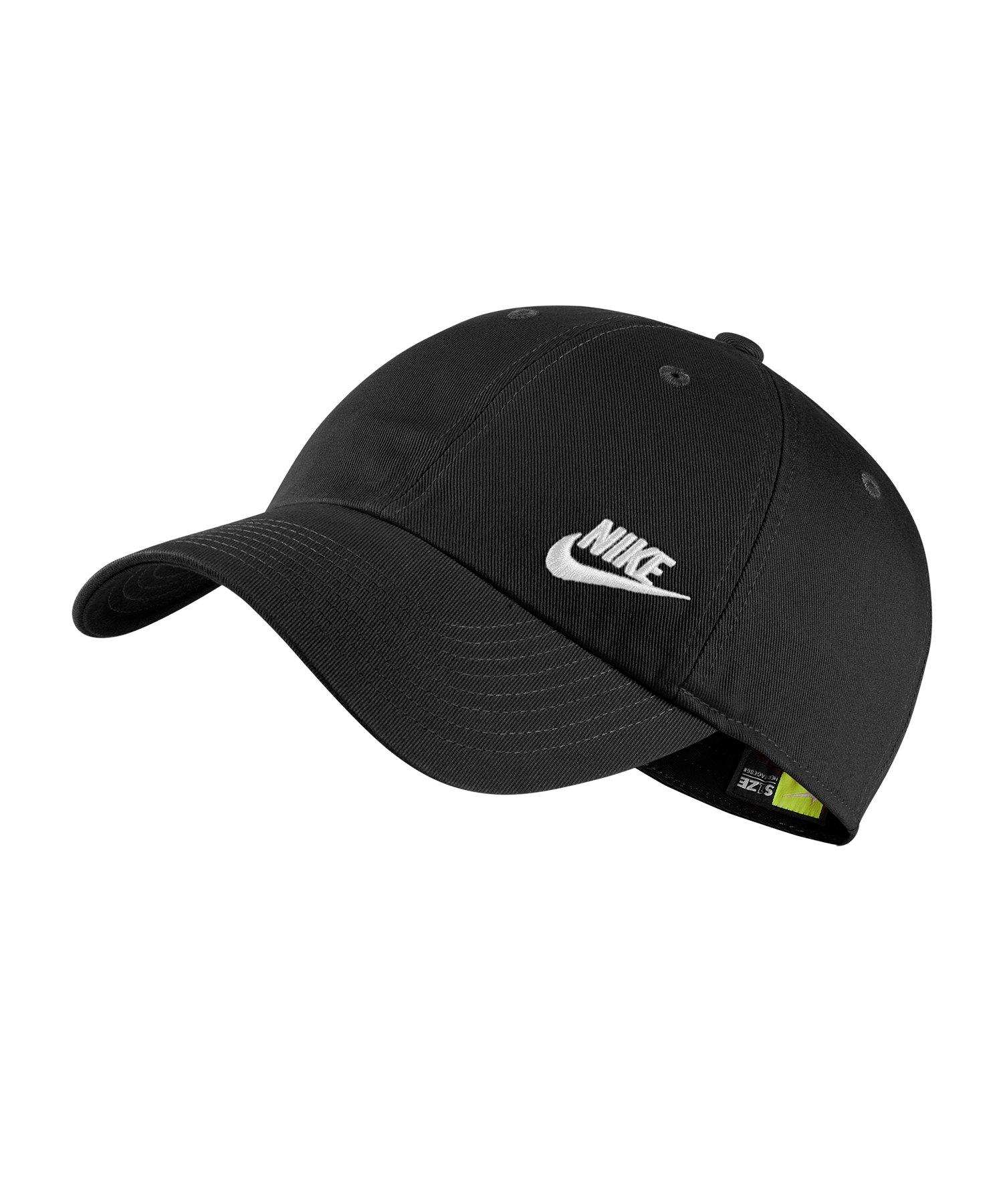 Nike Heritage 86 Classic Kappe Damen Schwarz F010 - Schwarz