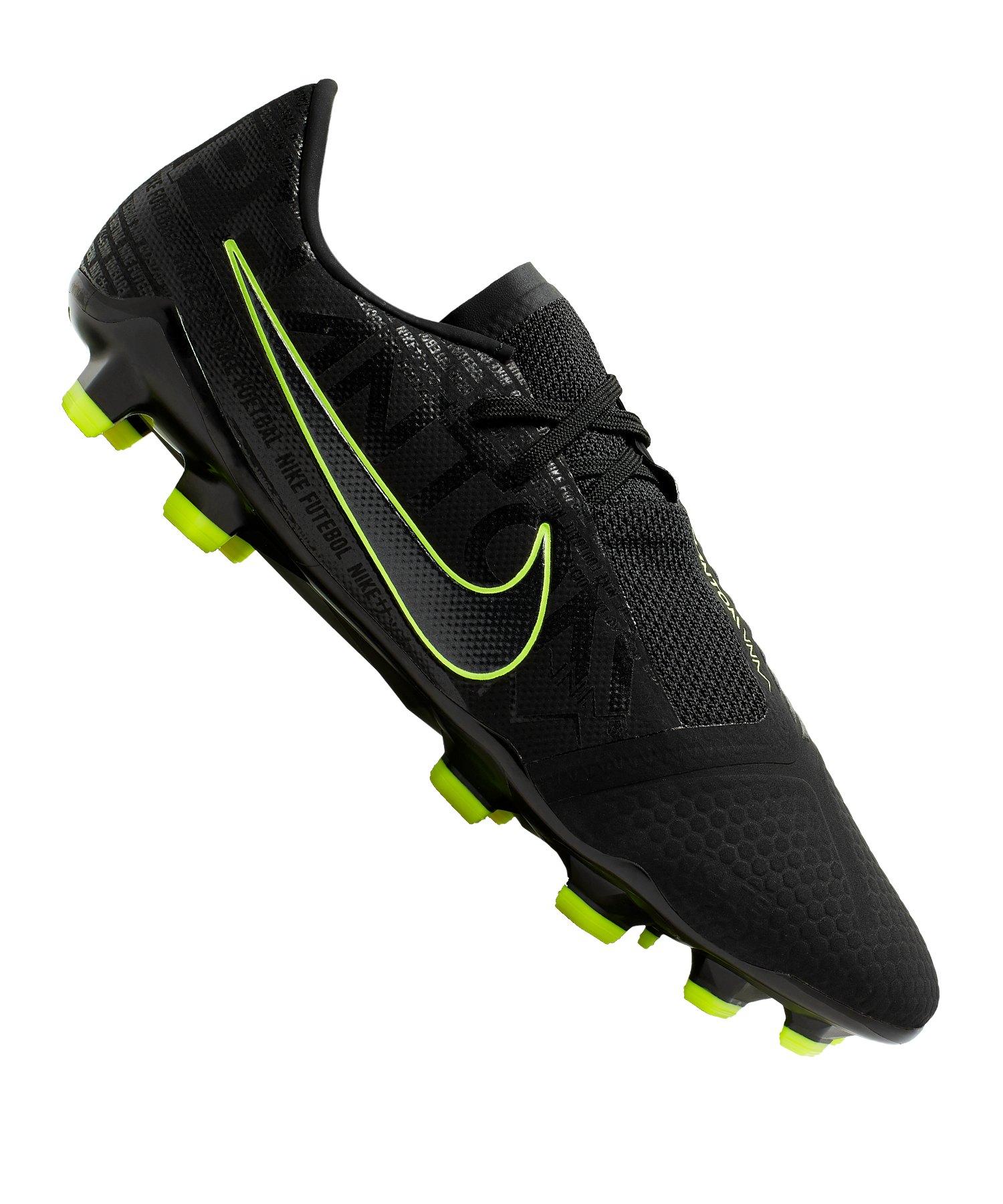 Nike Phantom Venom Pro FG Schwarz Gelb F007 - schwarz