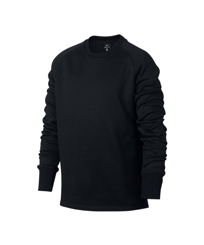 Nike Academy Therma Crew Sweatshirt Kids F011 - schwarz