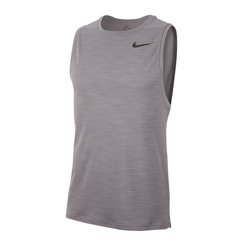Nike Superset Tank Top Grau F056 - Grau