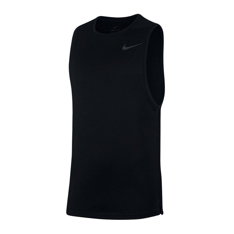 Nike Superset Tank Top Schwarz F010 - Schwarz