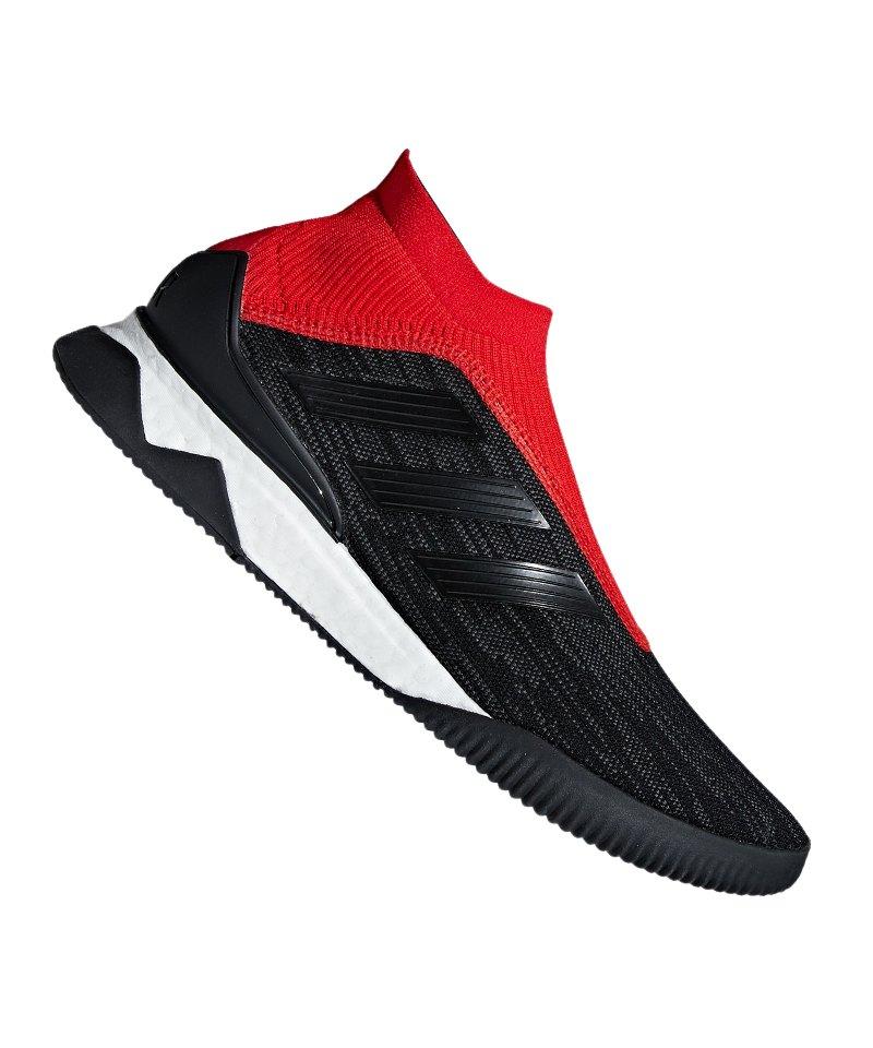 adidas Predator Tango 18+ TR Schwarz Rot - schwarz
