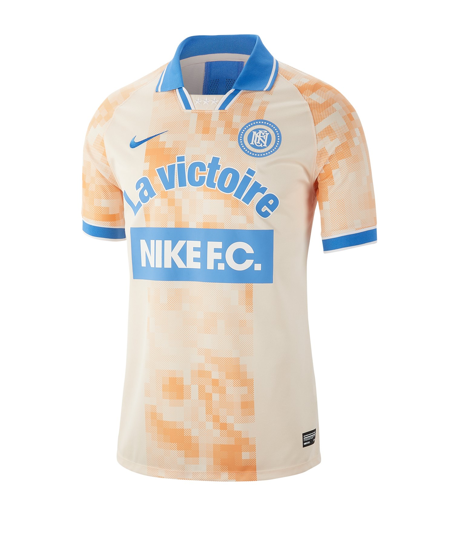 Nike F.C. Frankreich Jersey T-Shirt Orange F838 - Orange