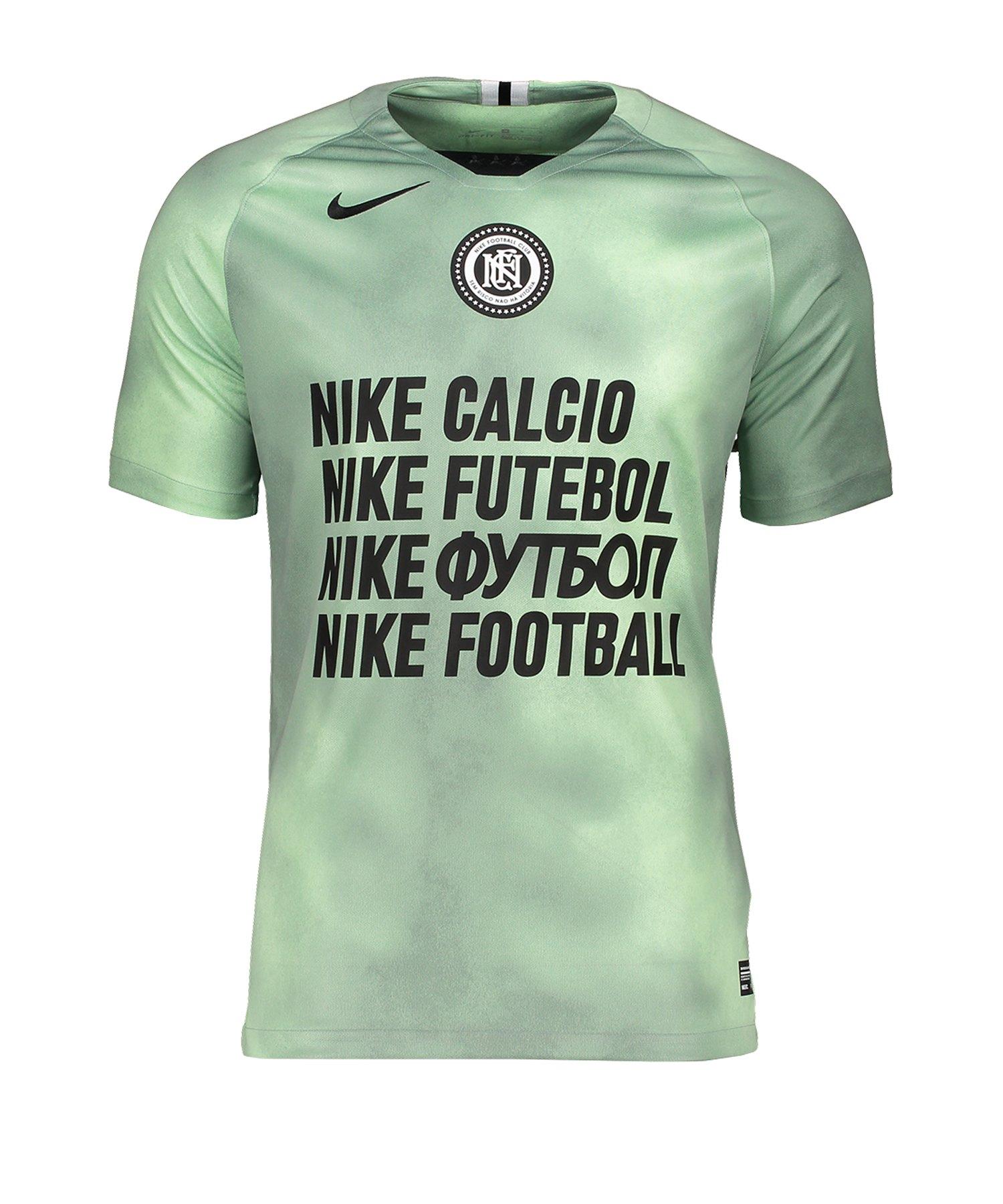 Nike F.C. Away T-Shirt F376 - Gruen