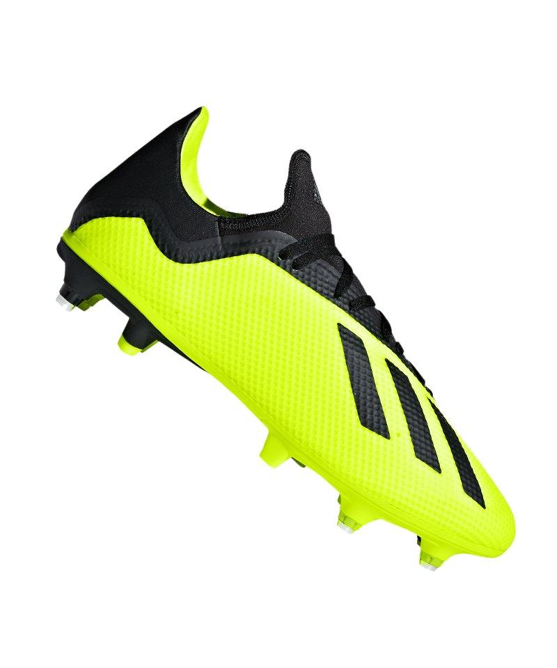 adidas X 18.3 SG Gelb Schwarz - gelb