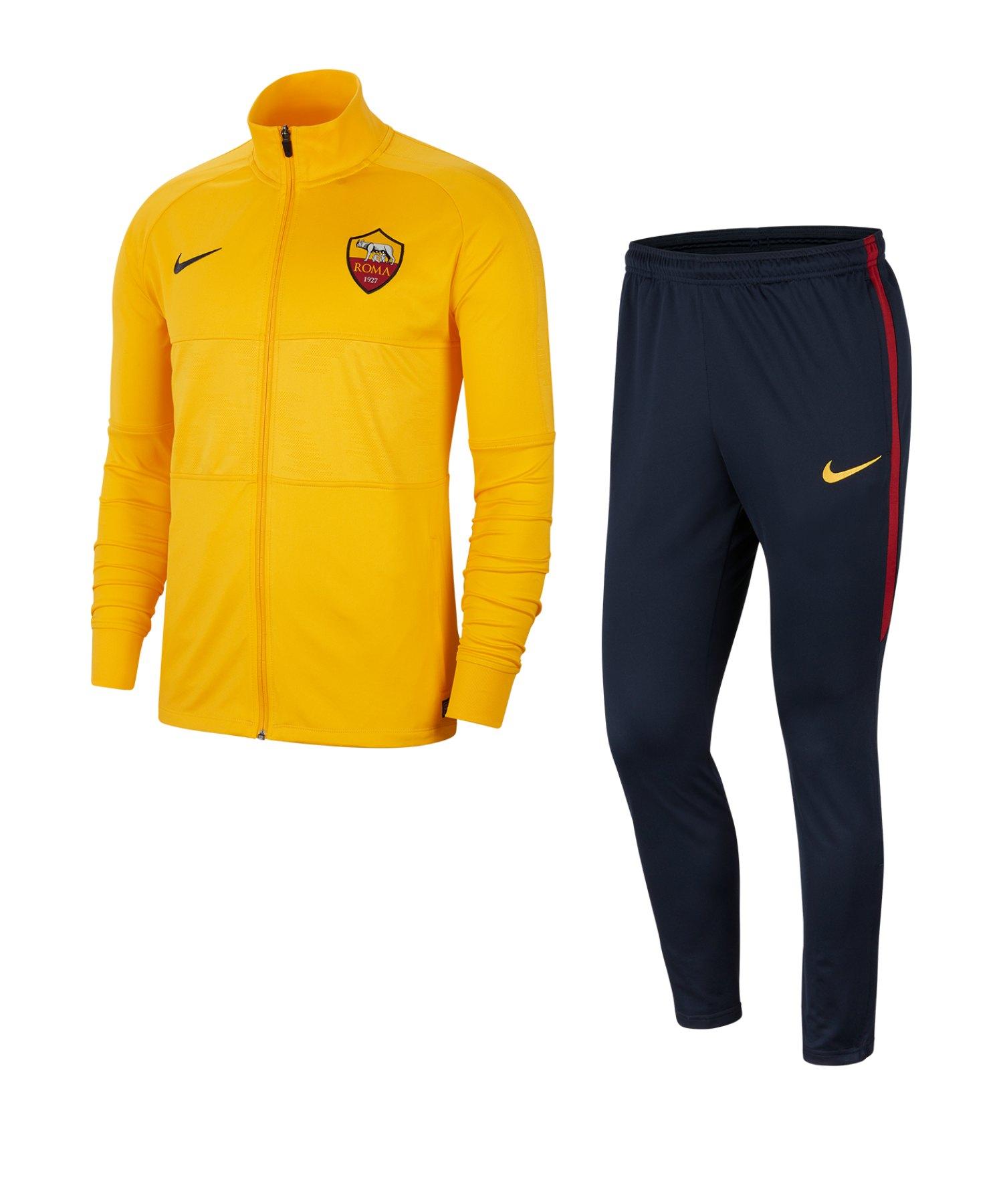 Nike AS Rom Strike Trainingsanzug Gelb F739 - gelb