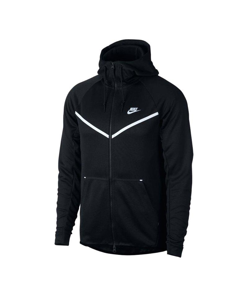 Nike Tech Fleece Windrunner Kapuzenjacke F010 - schwarz