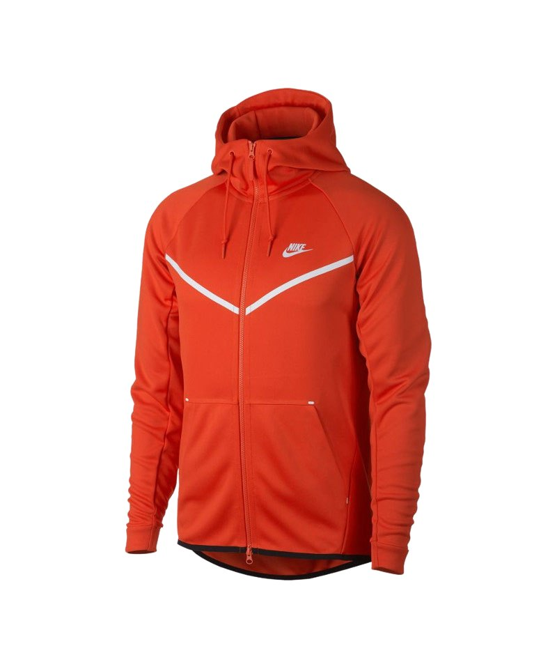 Nike Tech Fleece Windrunner Kapuzenjacke F891 - orange