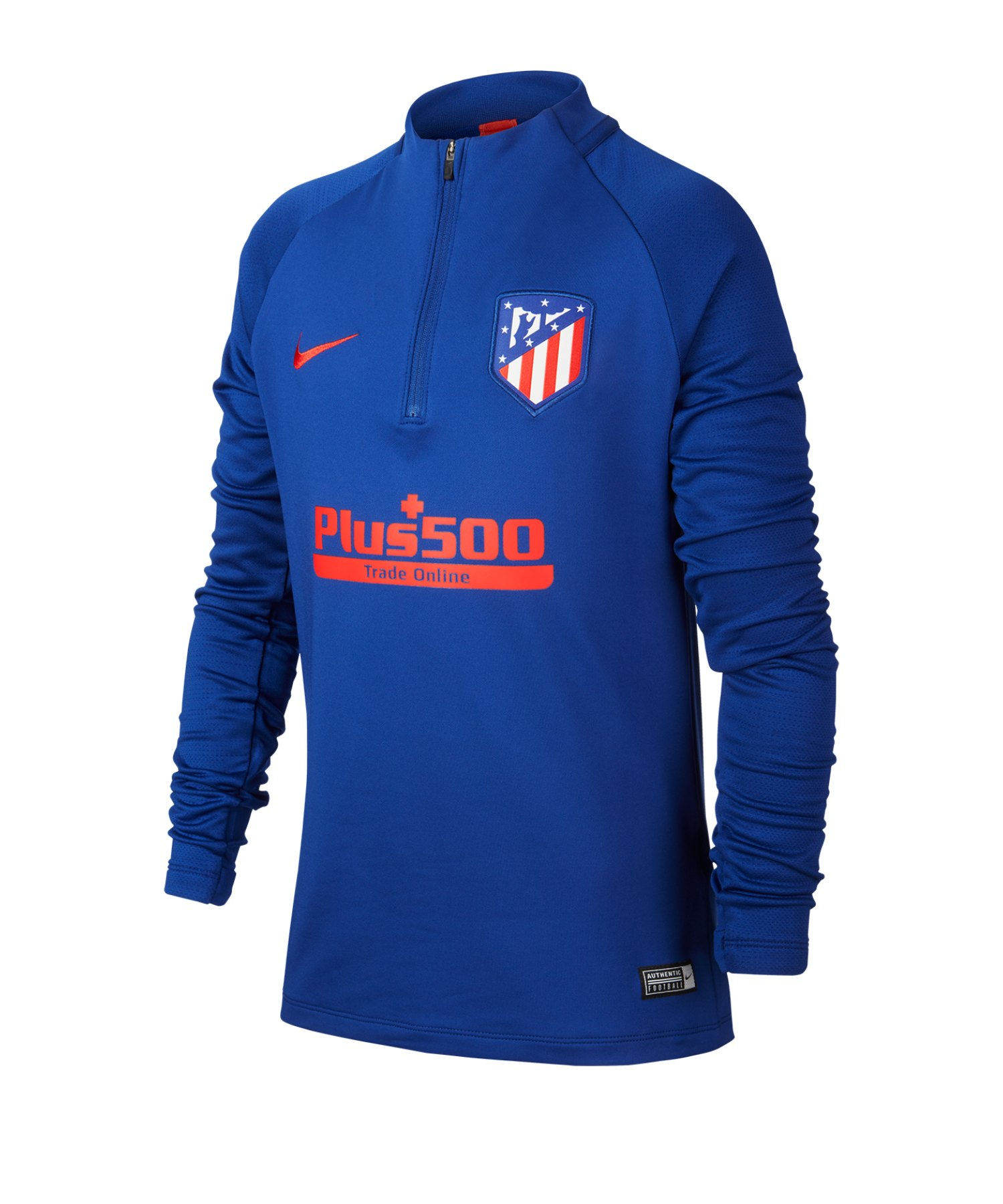 Nike Atletico Madrid Drill Top langarm Kids F456 - blau