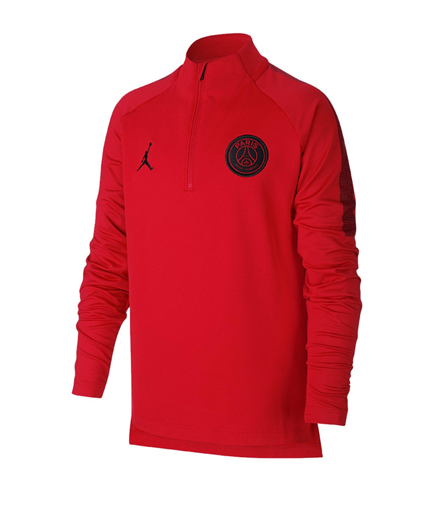 Nike Paris St. Germain Dry Squad Drill Top Kids F012 - schwarz