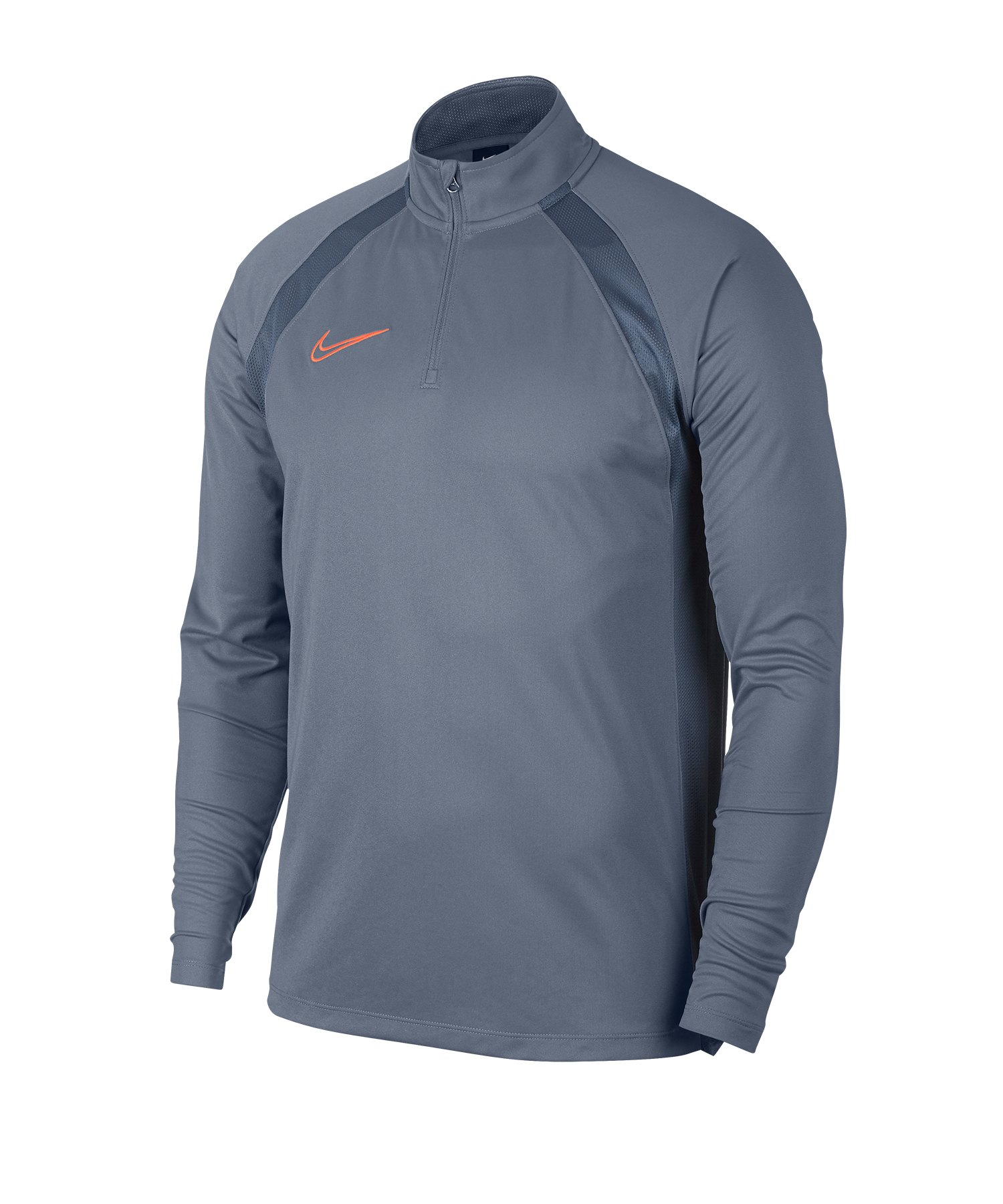 Nike Dri-FIT Academy Drill Top Grau F490 - Blau