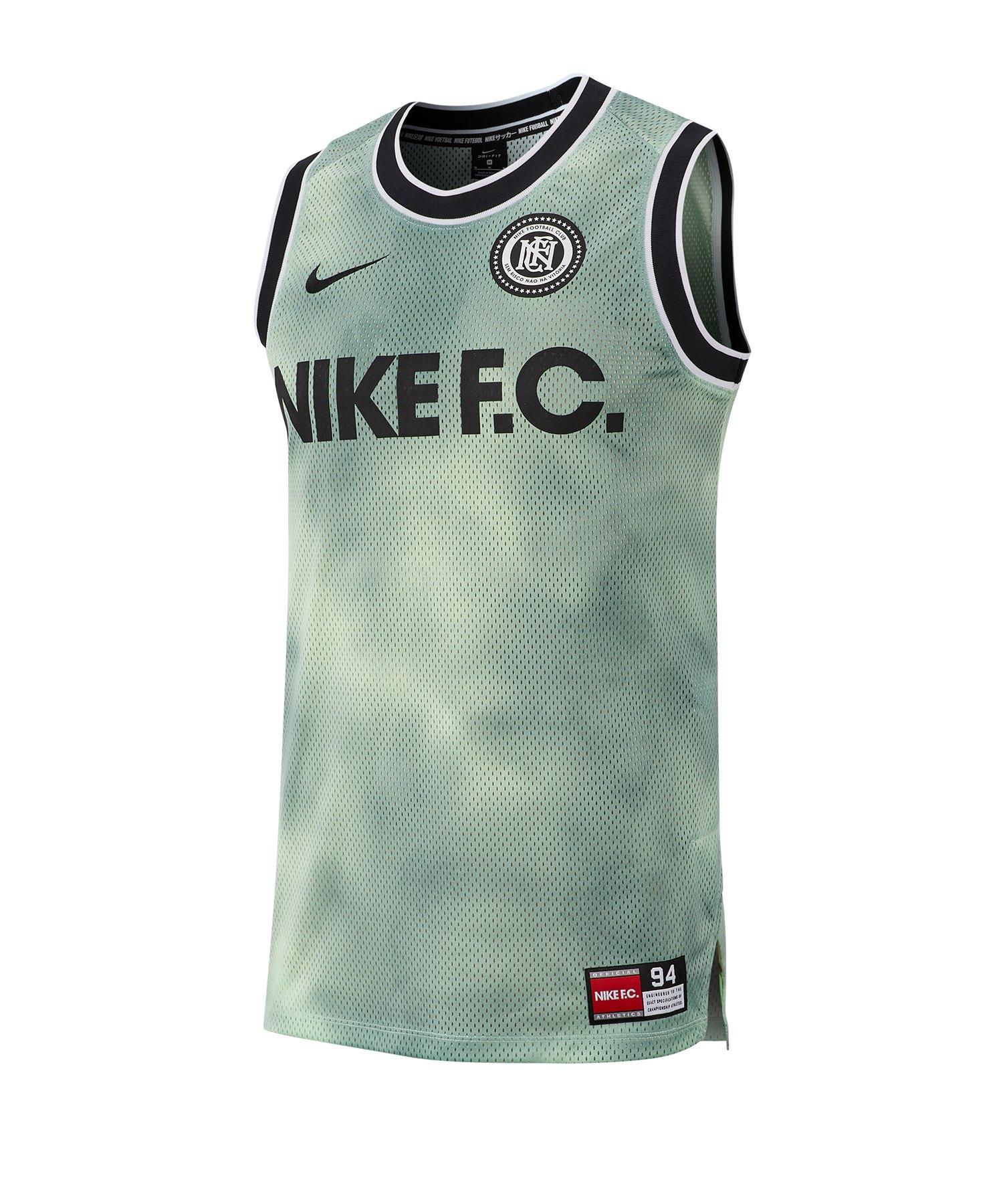 Nike F.C . Tanktop F376 - Gruen