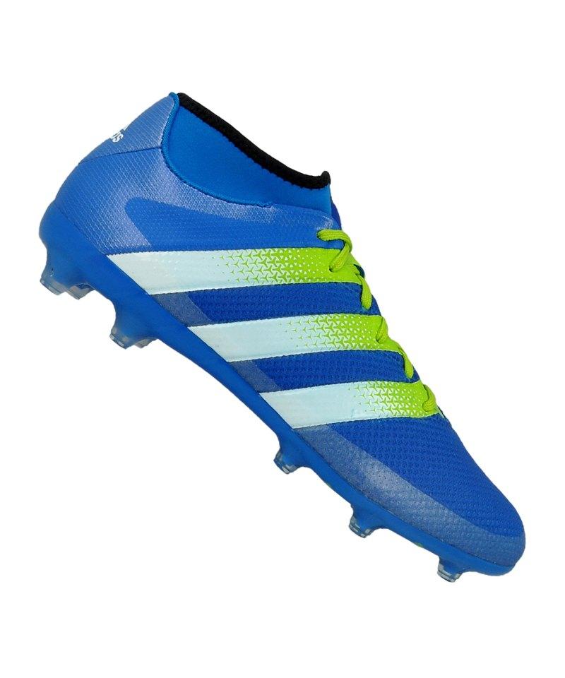 adidas ACE 16.2 Primemesh FG Blau Grün - blau