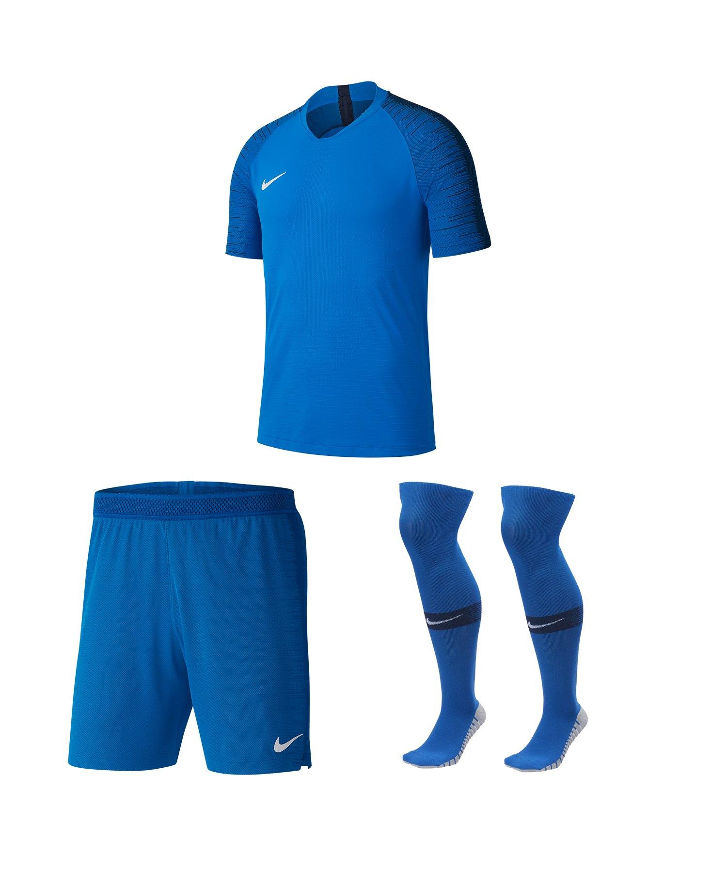 Nike Vaporknit II Trikotset kurzarm Blau F463 - blau