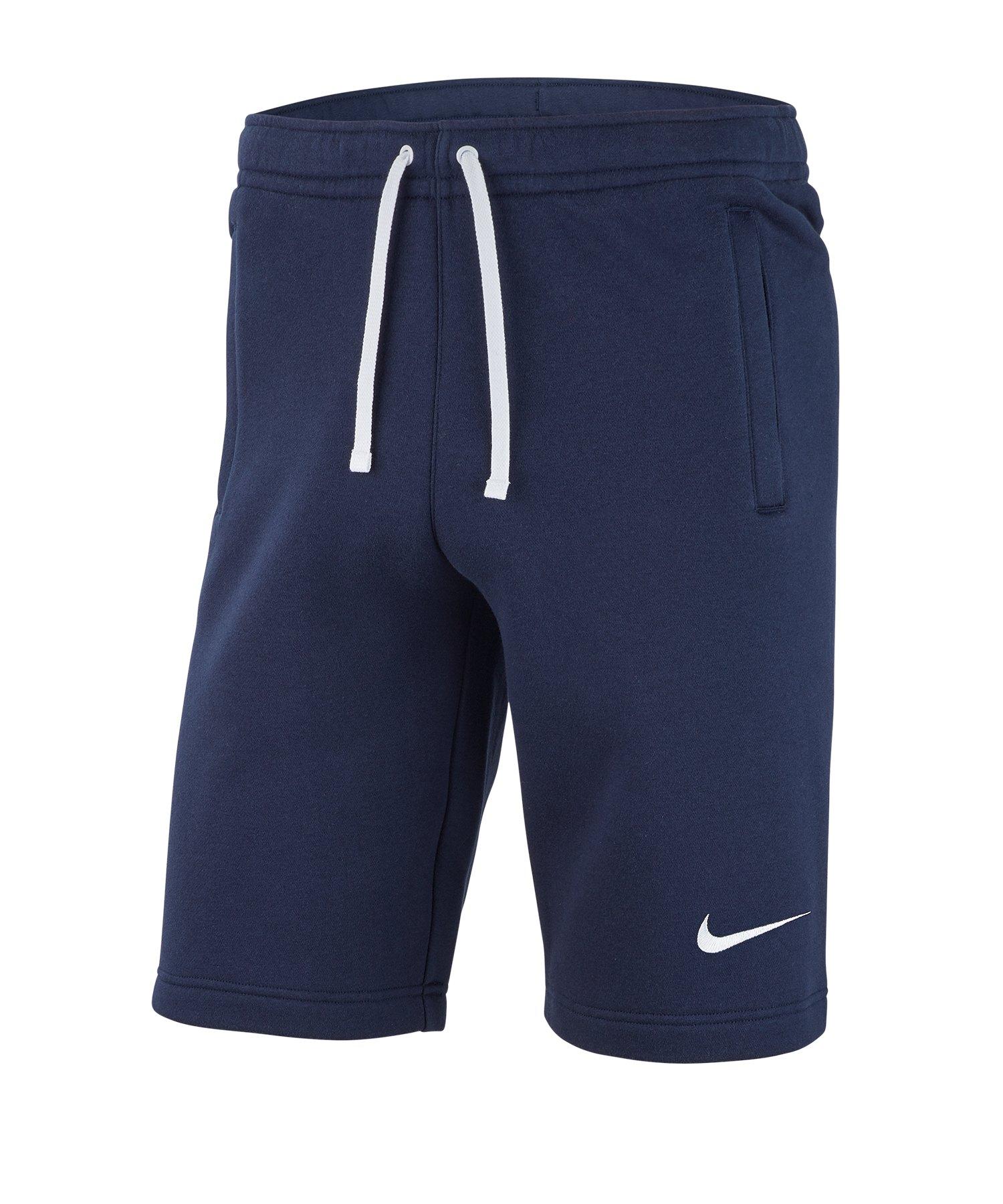 Nike Club 19 Fleece Short Blau F451 - blau