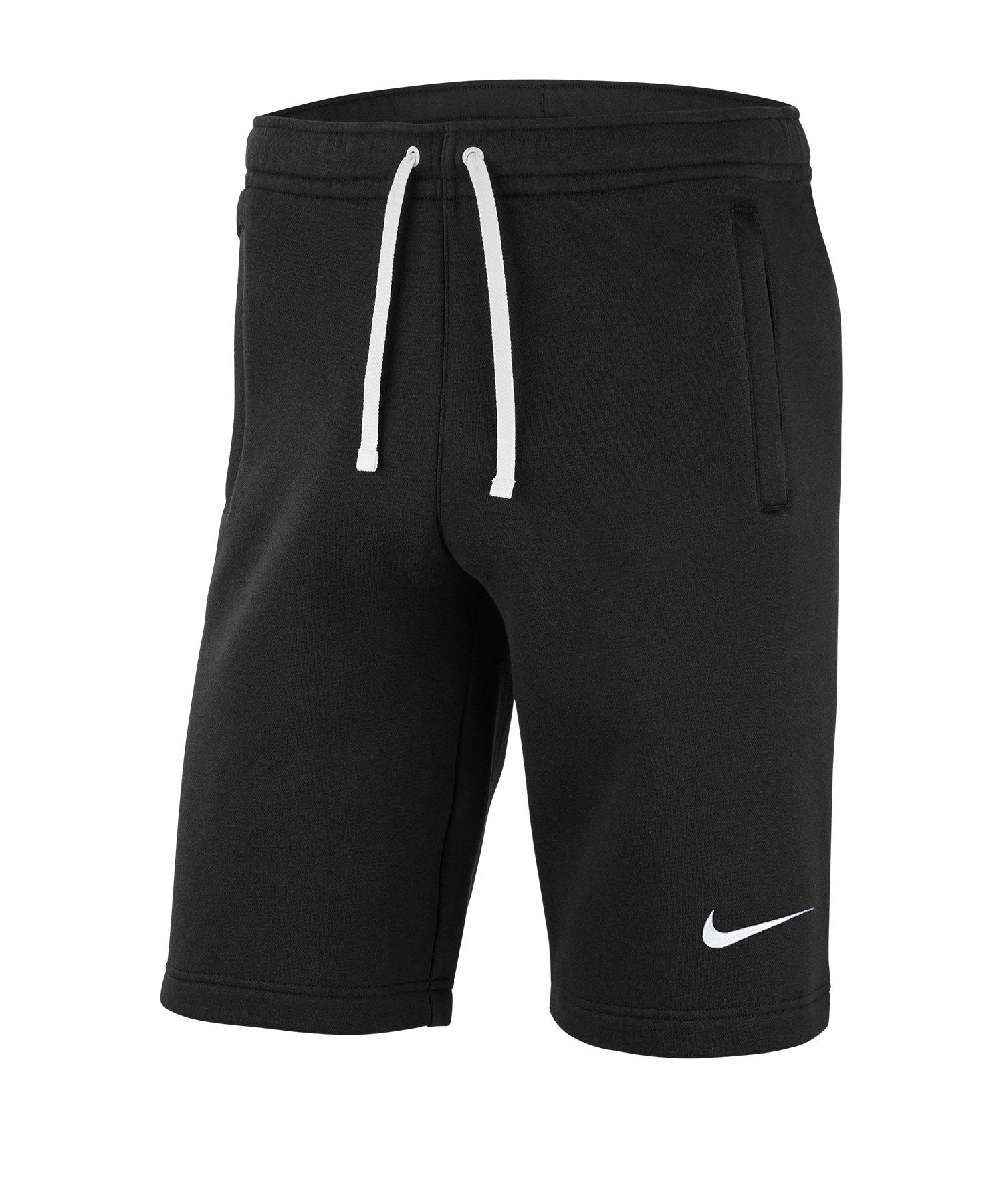 Nike Club 19 Fleece Short Schwarz F010 - schwarz