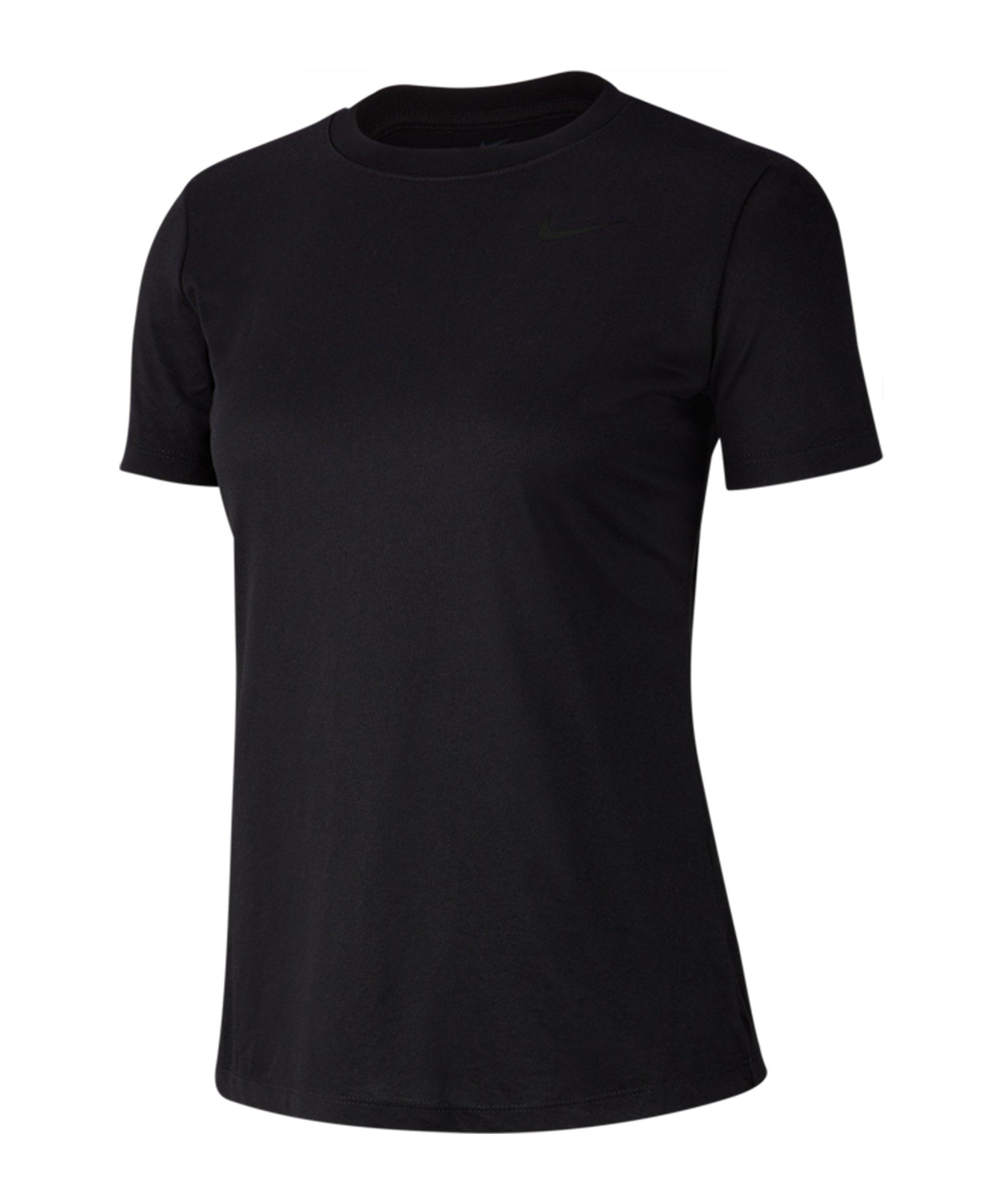 Nike Legend Crew T-Shirt Training Damen F010 - schwarz